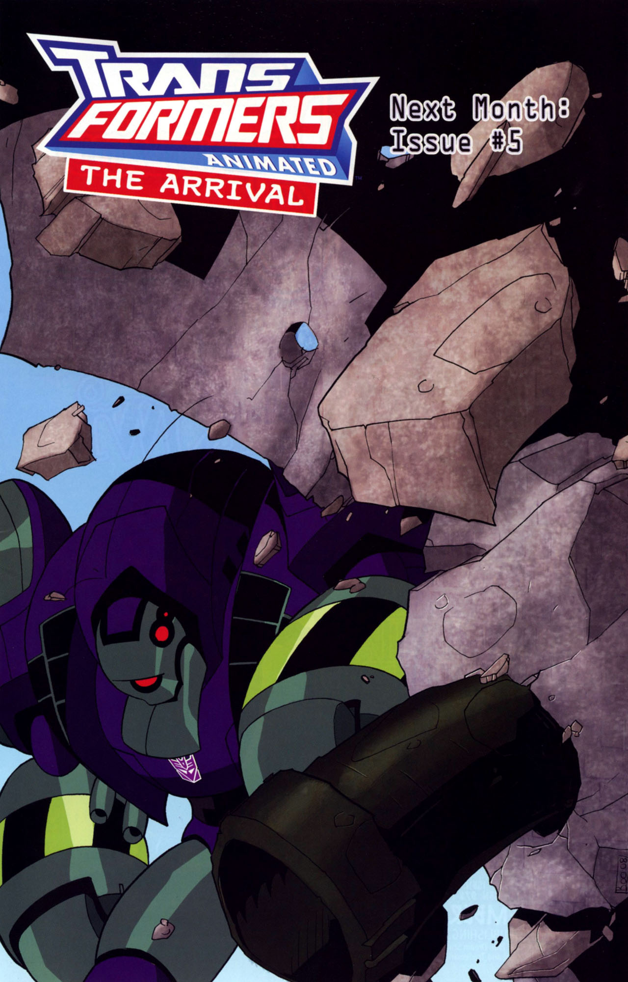Read online Transformers Animated: The Arrival comic -  Issue #4 - 26