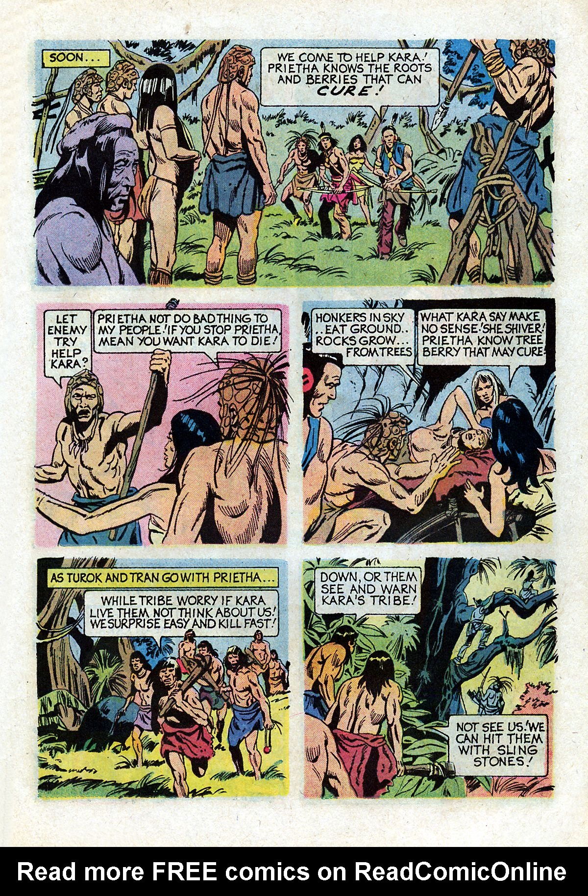 Read online Turok, Son of Stone comic -  Issue #93 - 15