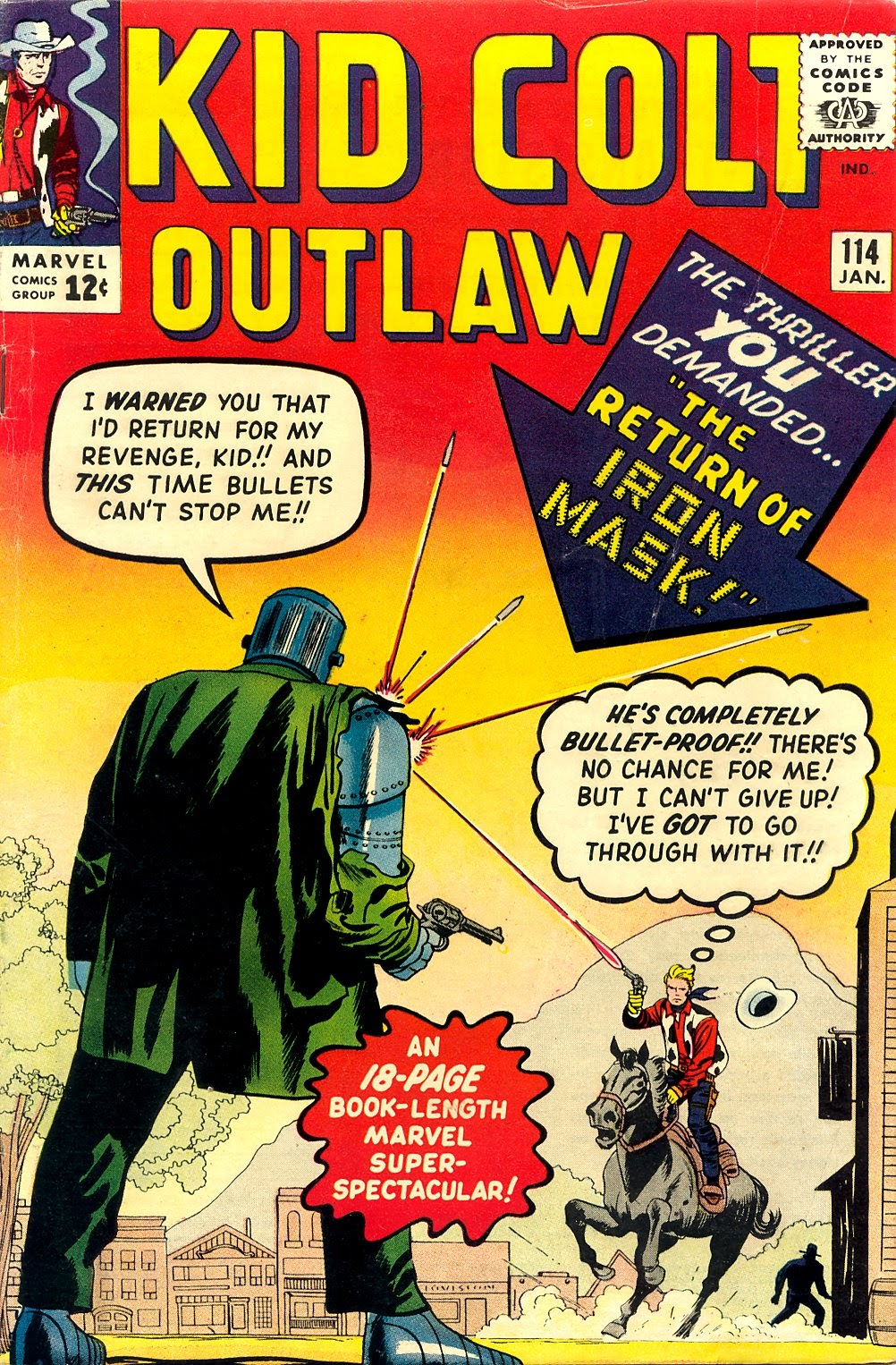 Kid Colt Outlaw issue 114 - Page 1
