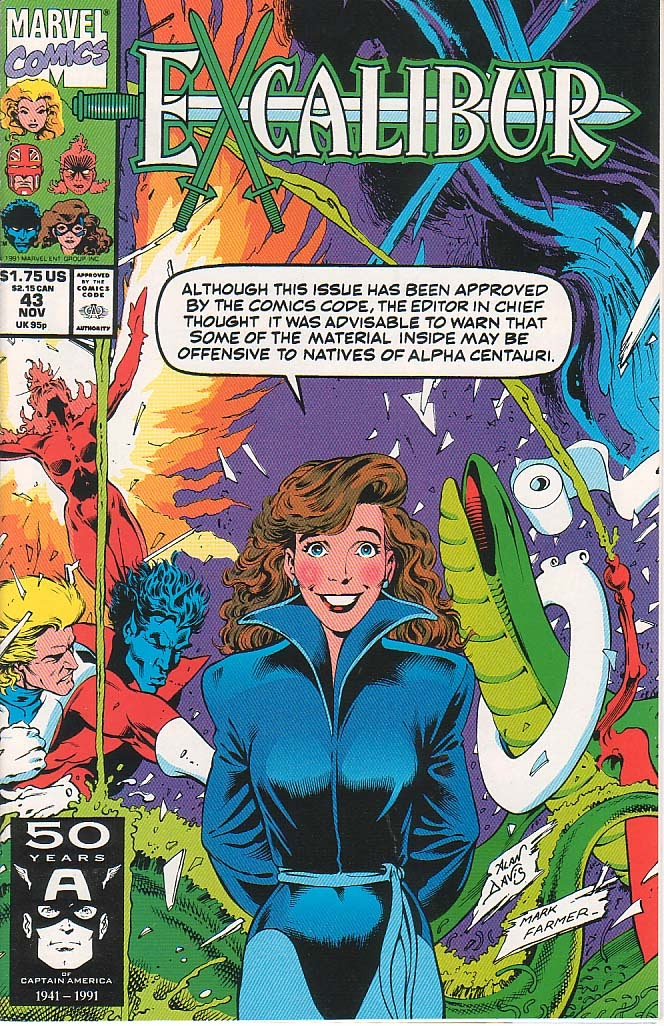 Excalibur (1988) issue 43 - Page 1