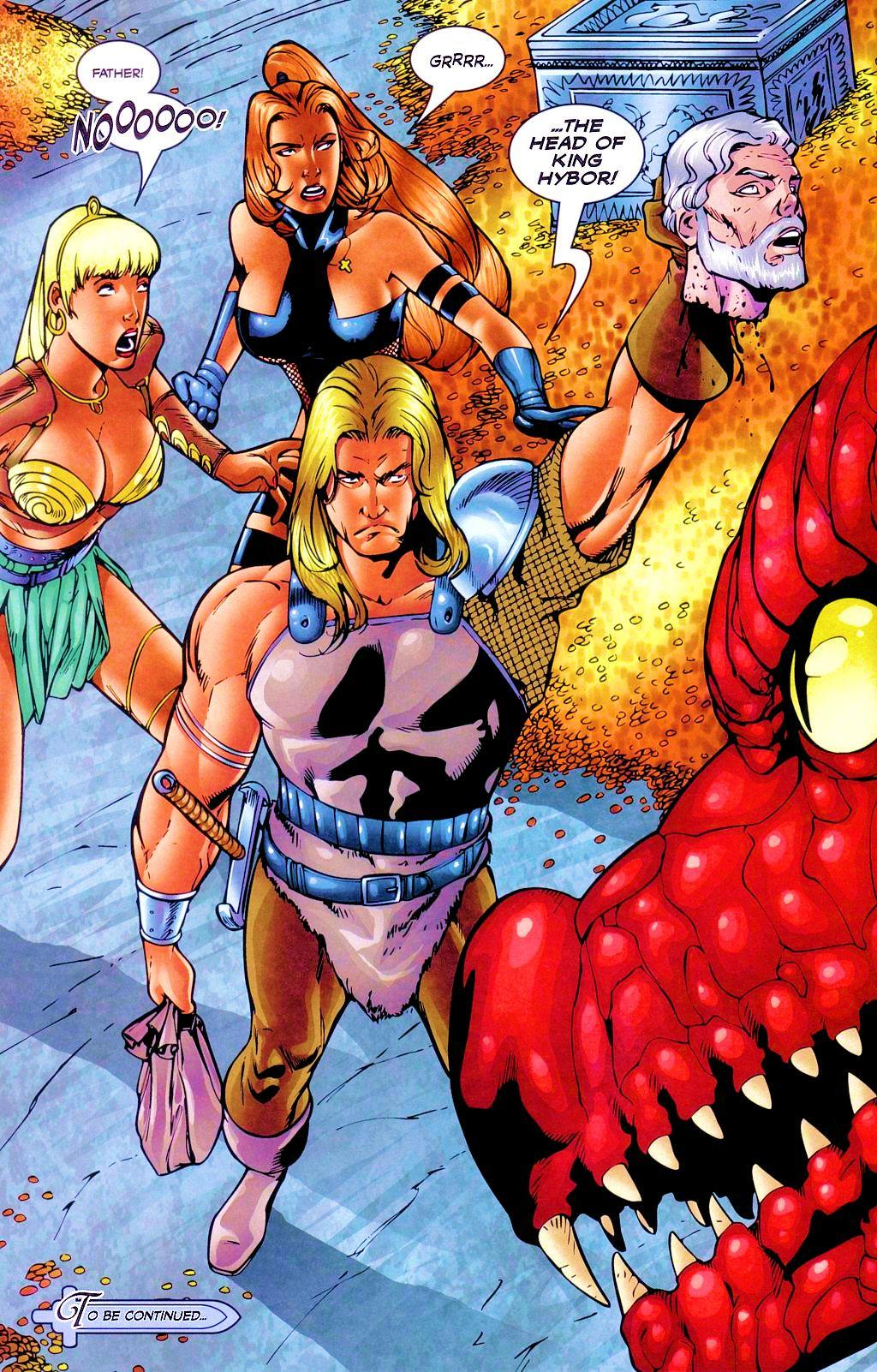 Read online Avengelyne: Dragon Realm comic -  Issue #1 - 25
