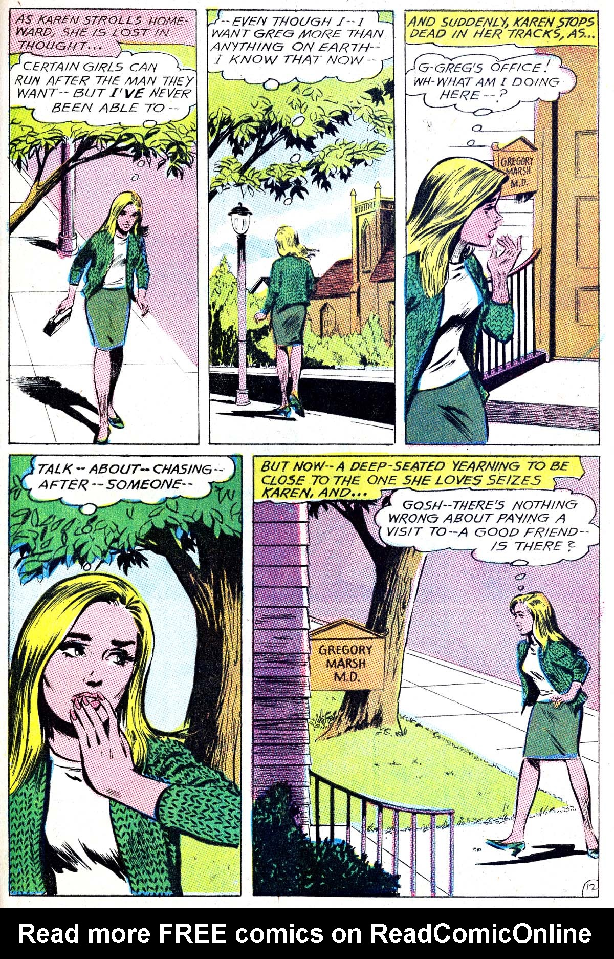 Read online Secret Hearts comic -  Issue #114 - 29