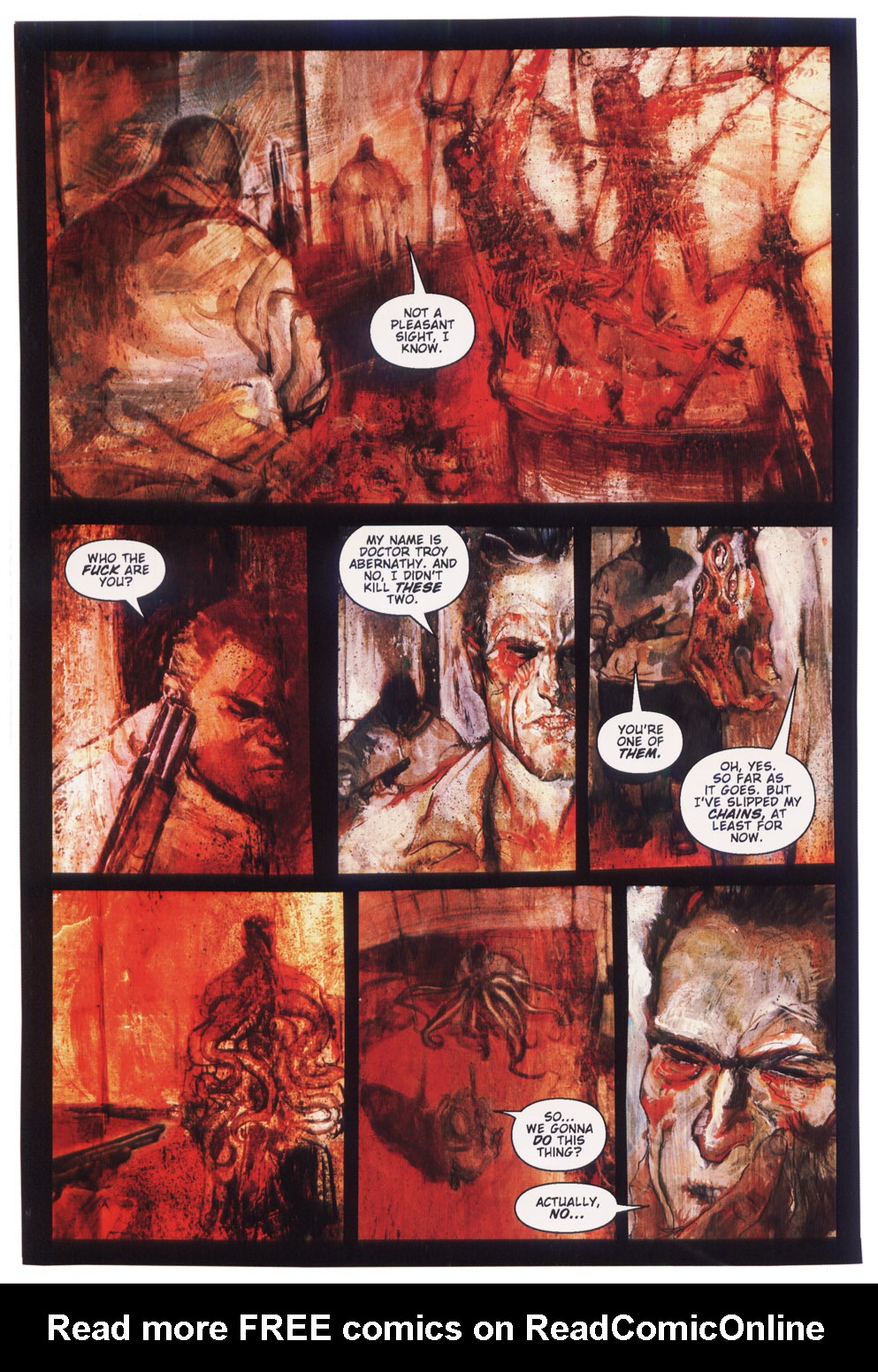 Read online Silent Hill: Dying Inside comic -  Issue #5 - 10