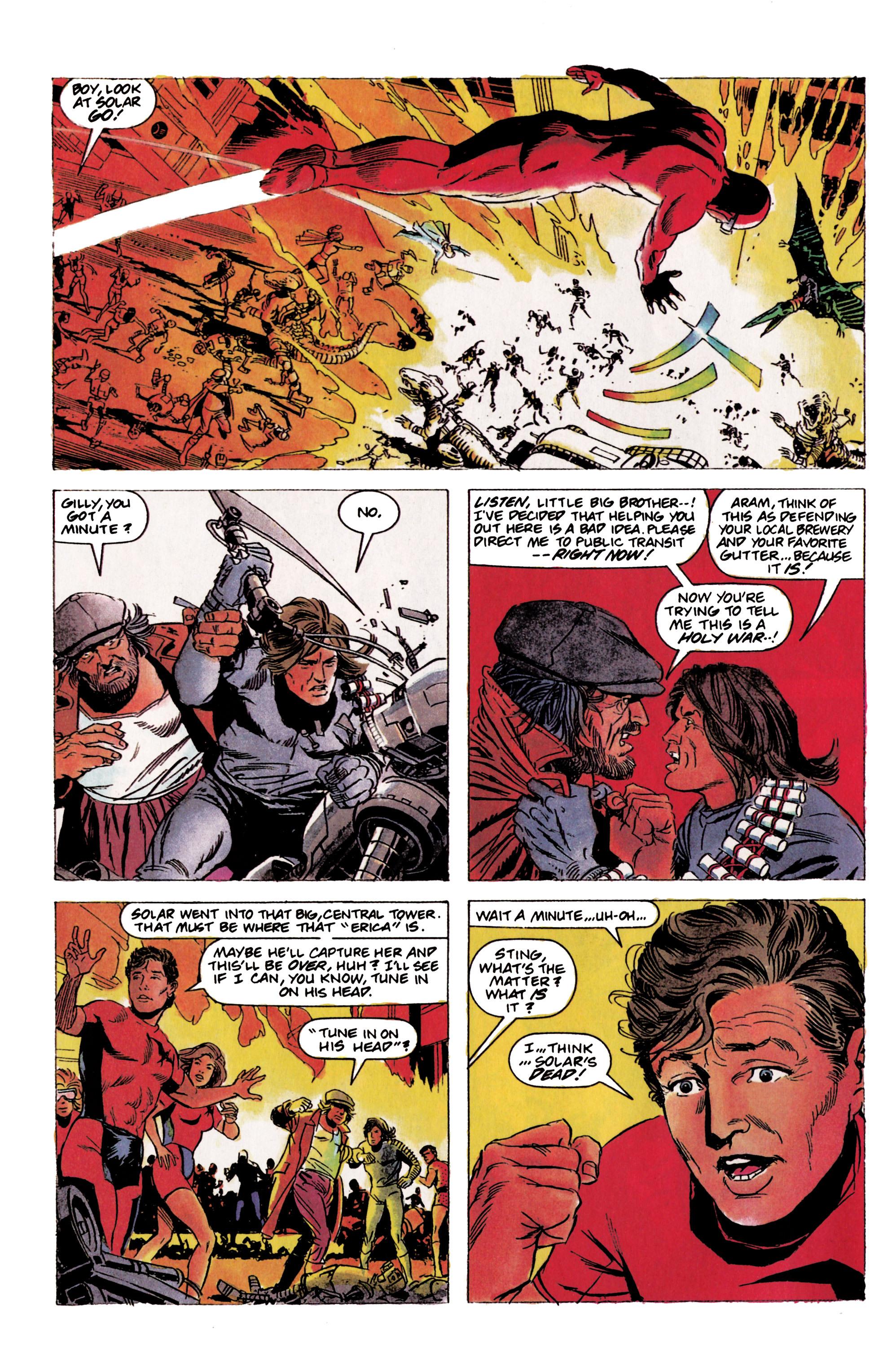 Read online Eternal Warrior (1992) comic -  Issue #2 - 5