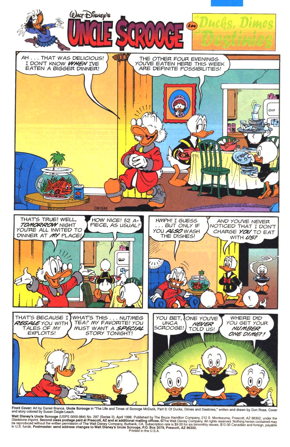 Read online Uncle Scrooge (1953) comic -  Issue #297 - 2