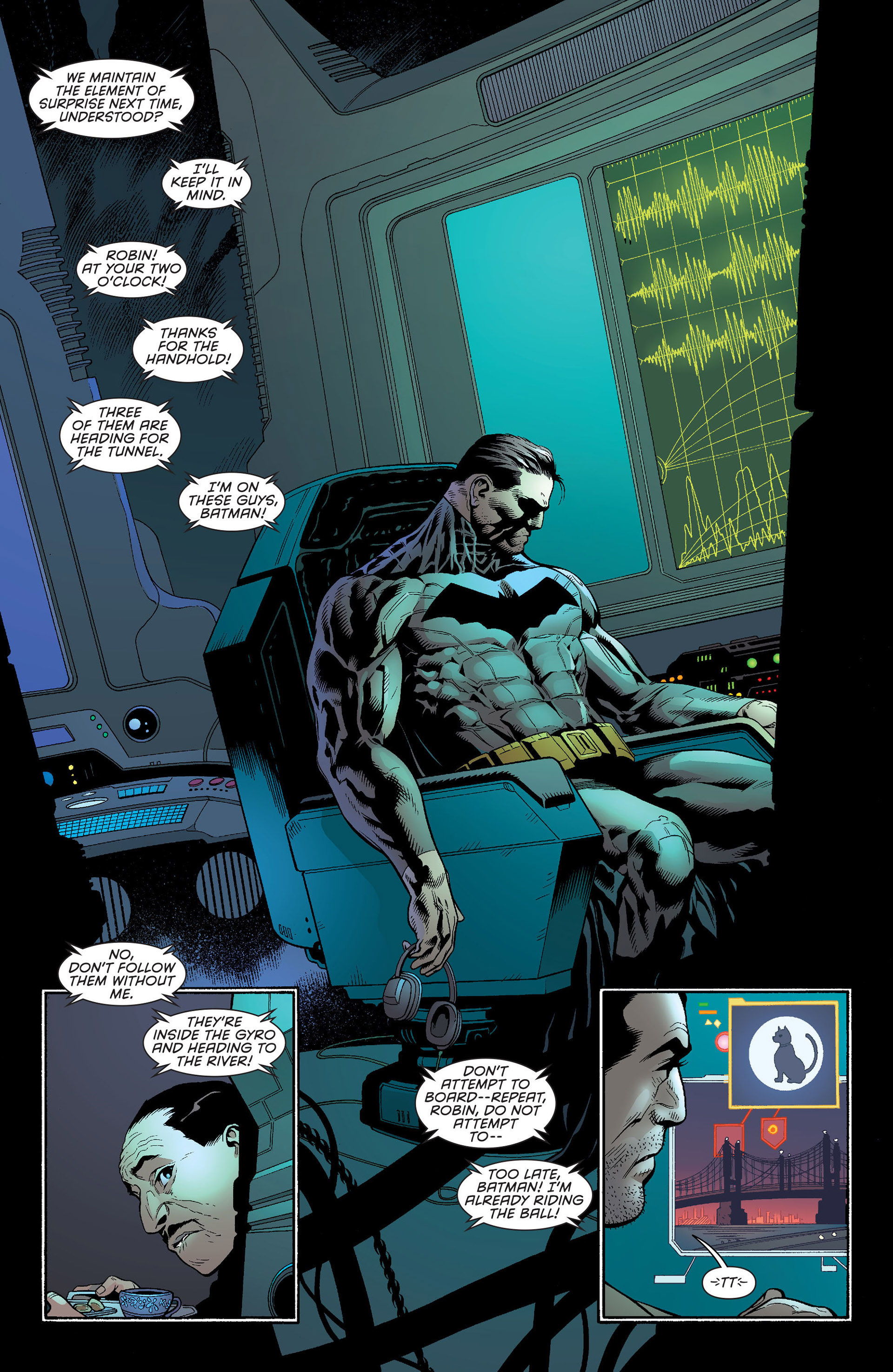 Read online Batman and Robin (2011) comic -  Issue #22 - Batman and Catwoman - 9