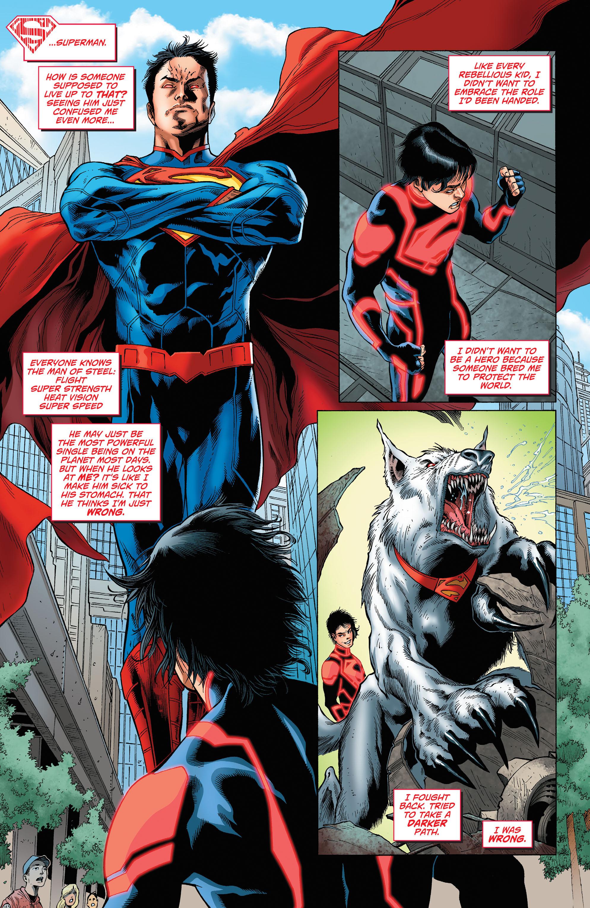 Read online Secret Origins (2014) comic -  Issue #7 - 32