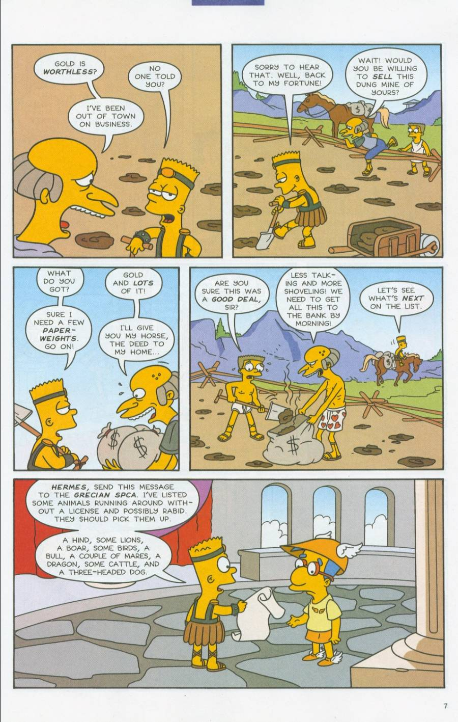Read online Simpsons Comics comic -  Issue #70 - 8