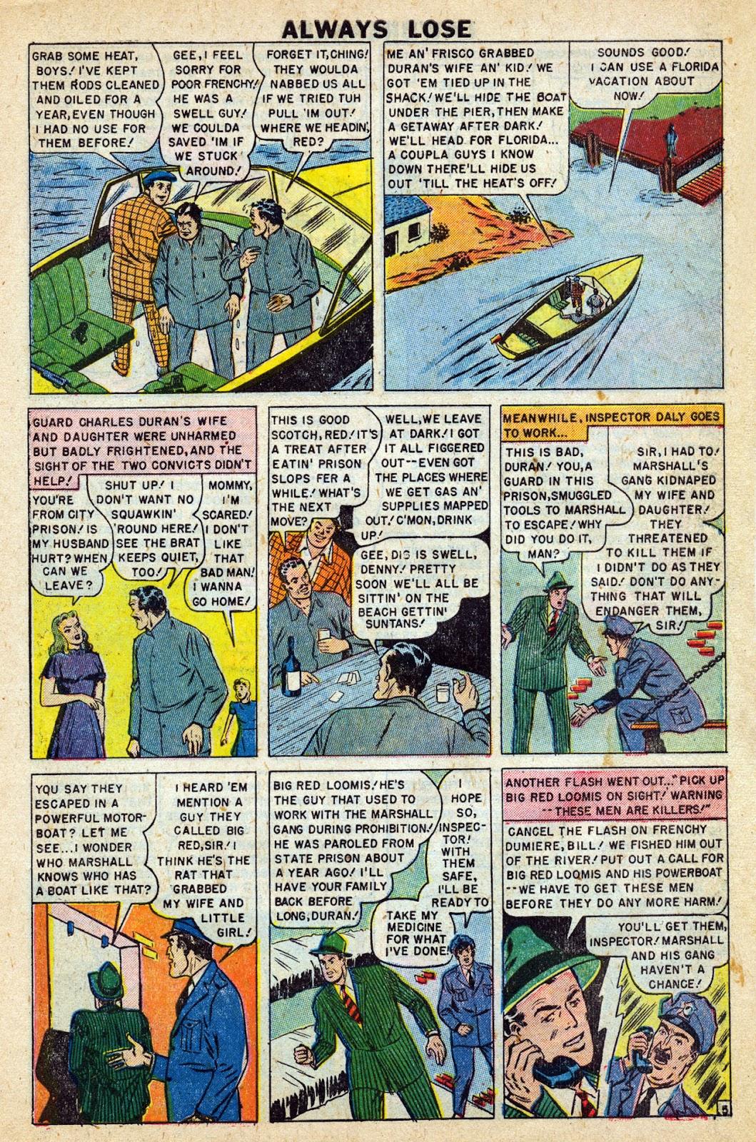 Lawbreakers Always Lose! issue 9 - Page 7