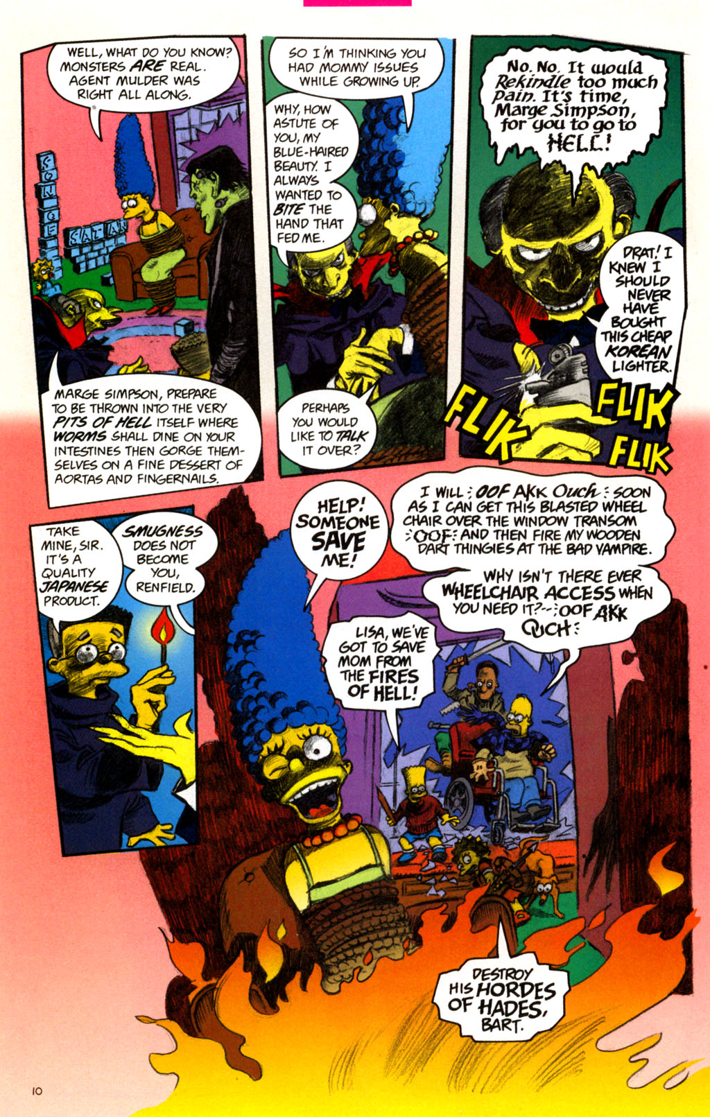 Read online Treehouse of Horror comic -  Issue #11 - 13