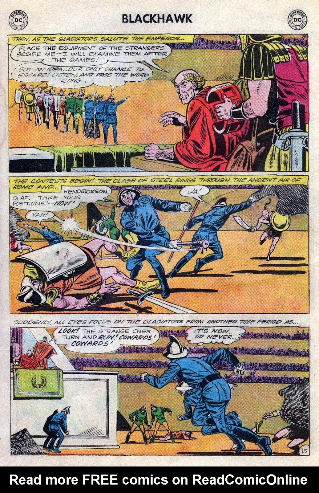 Blackhawk (1957) Issue #189 #82 - English 19