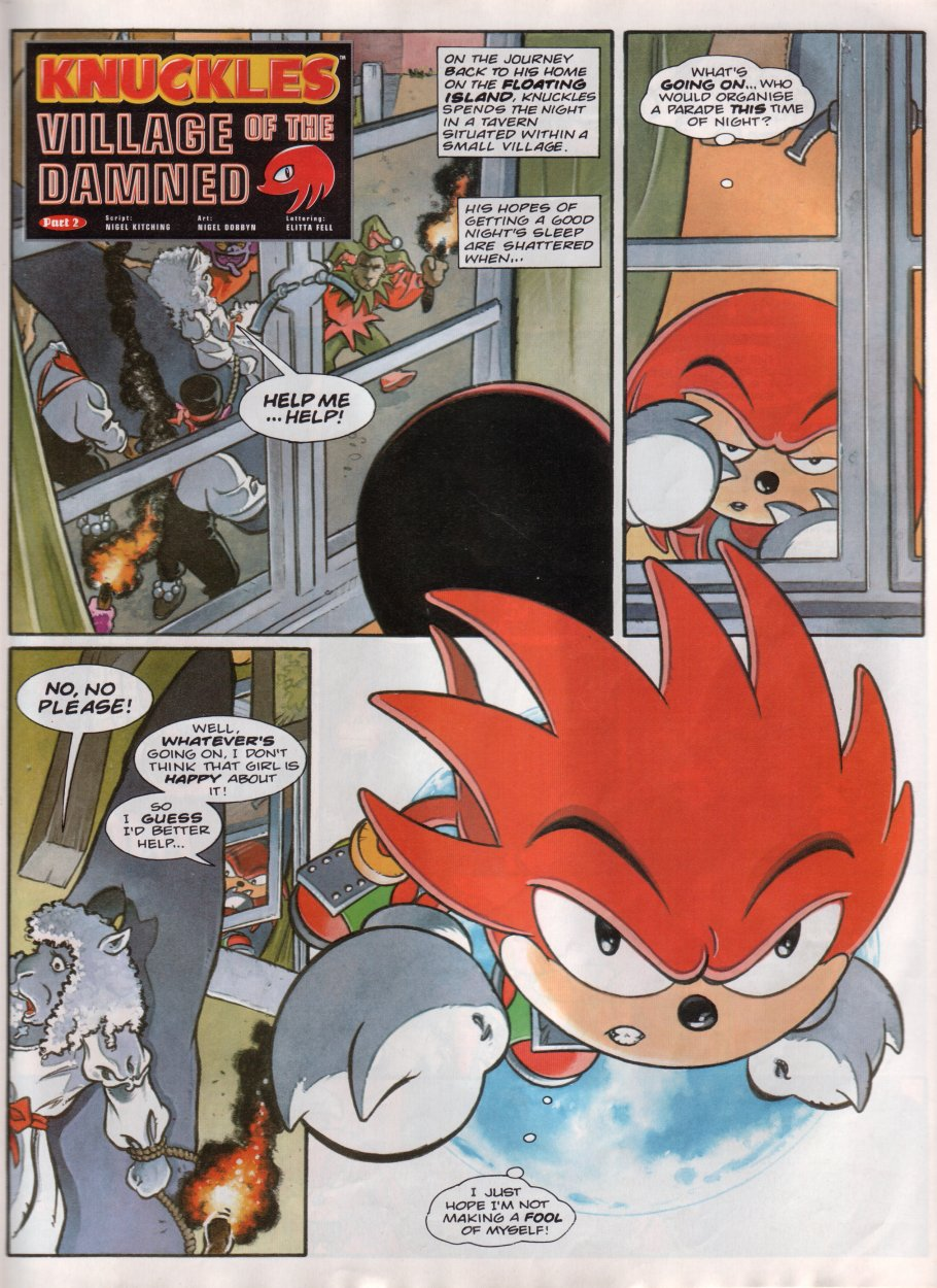 Read online Sonic the Comic comic -  Issue #85 - 12