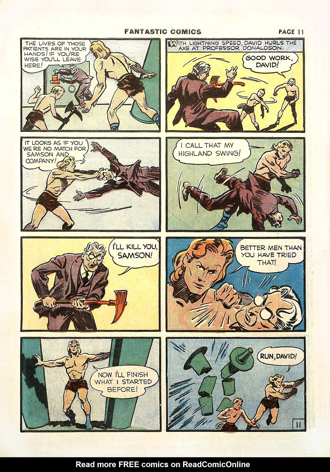 Read online Fantastic Comics comic -  Issue #11 - 14
