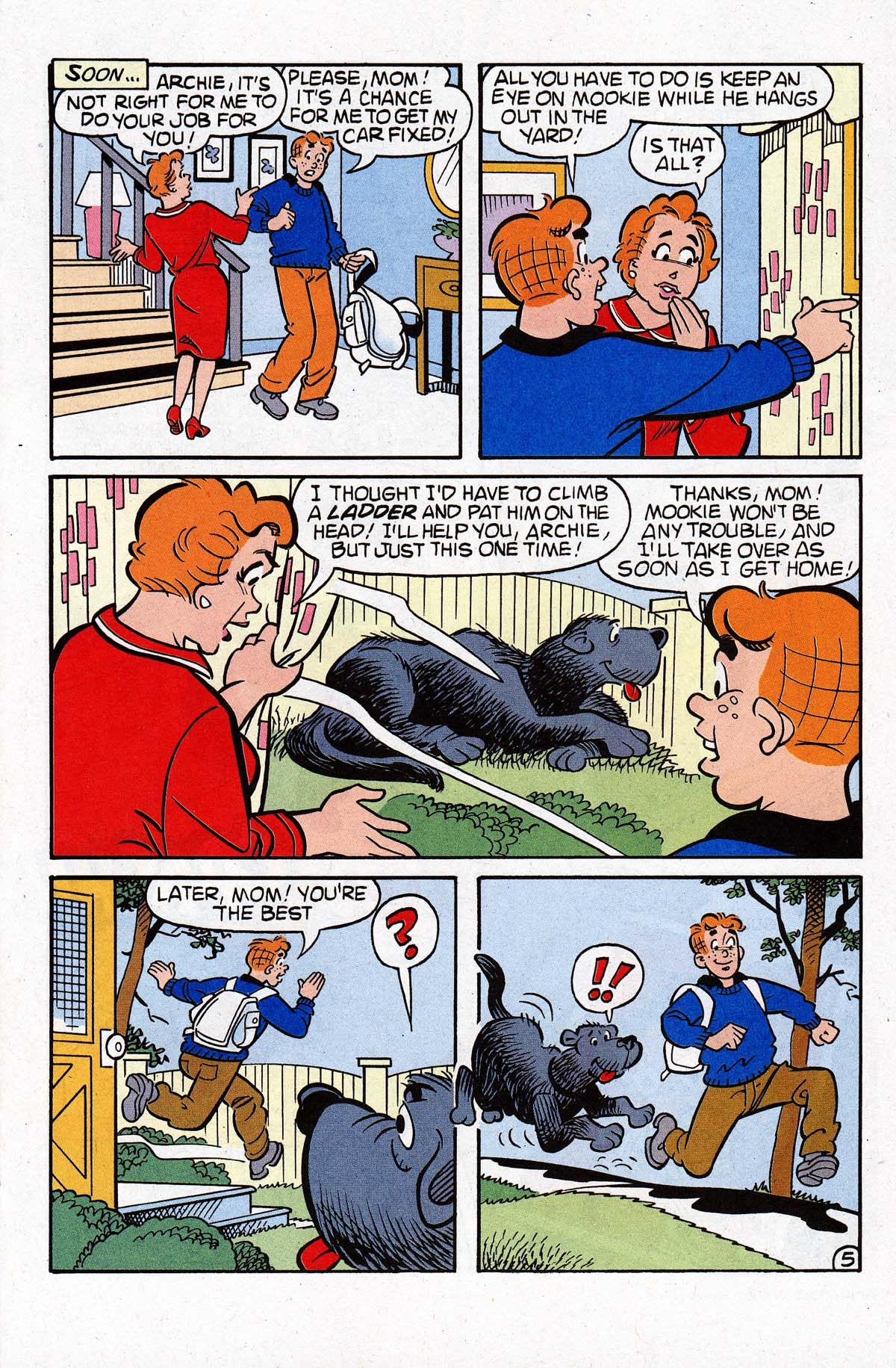 Read online Archie (1960) comic -  Issue #534 - 6