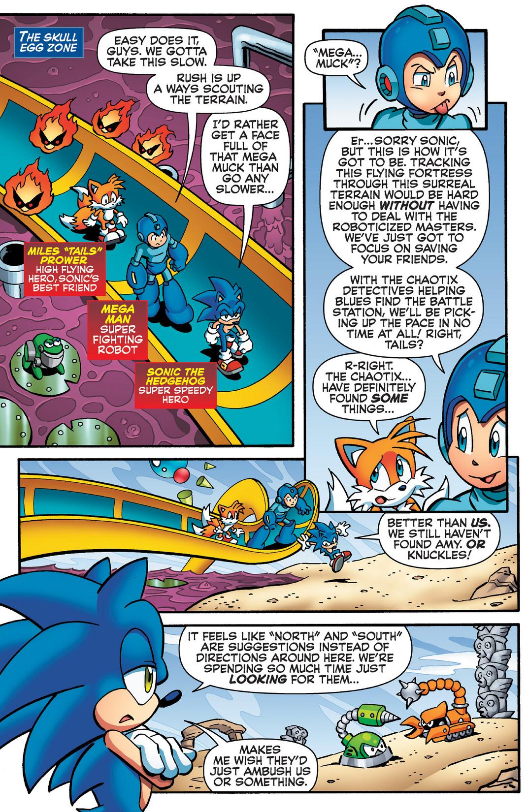 Read online Sonic Mega Man Worlds Collide comic -  Issue # Vol 2 - 88