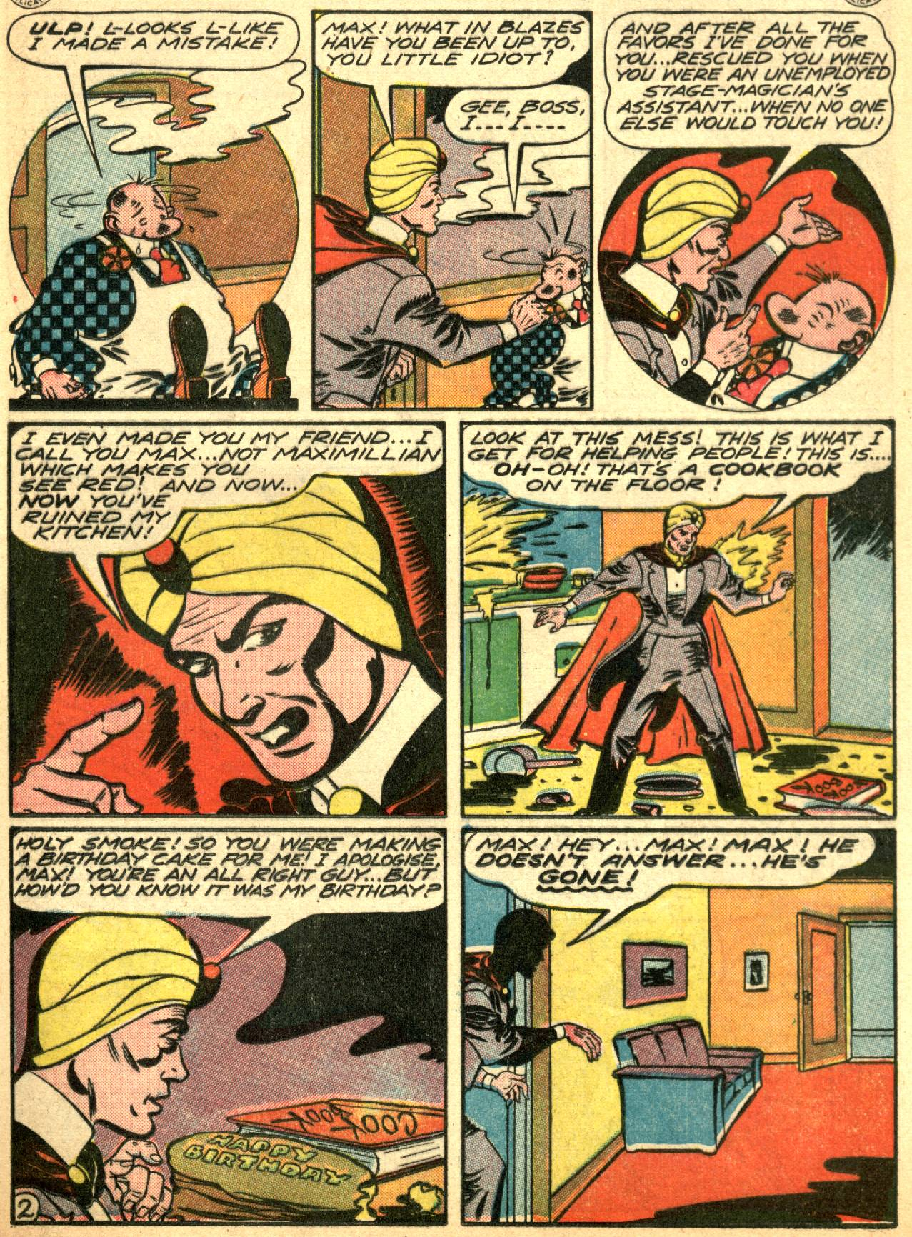 Read online Sensation (Mystery) Comics comic -  Issue #53 - 25