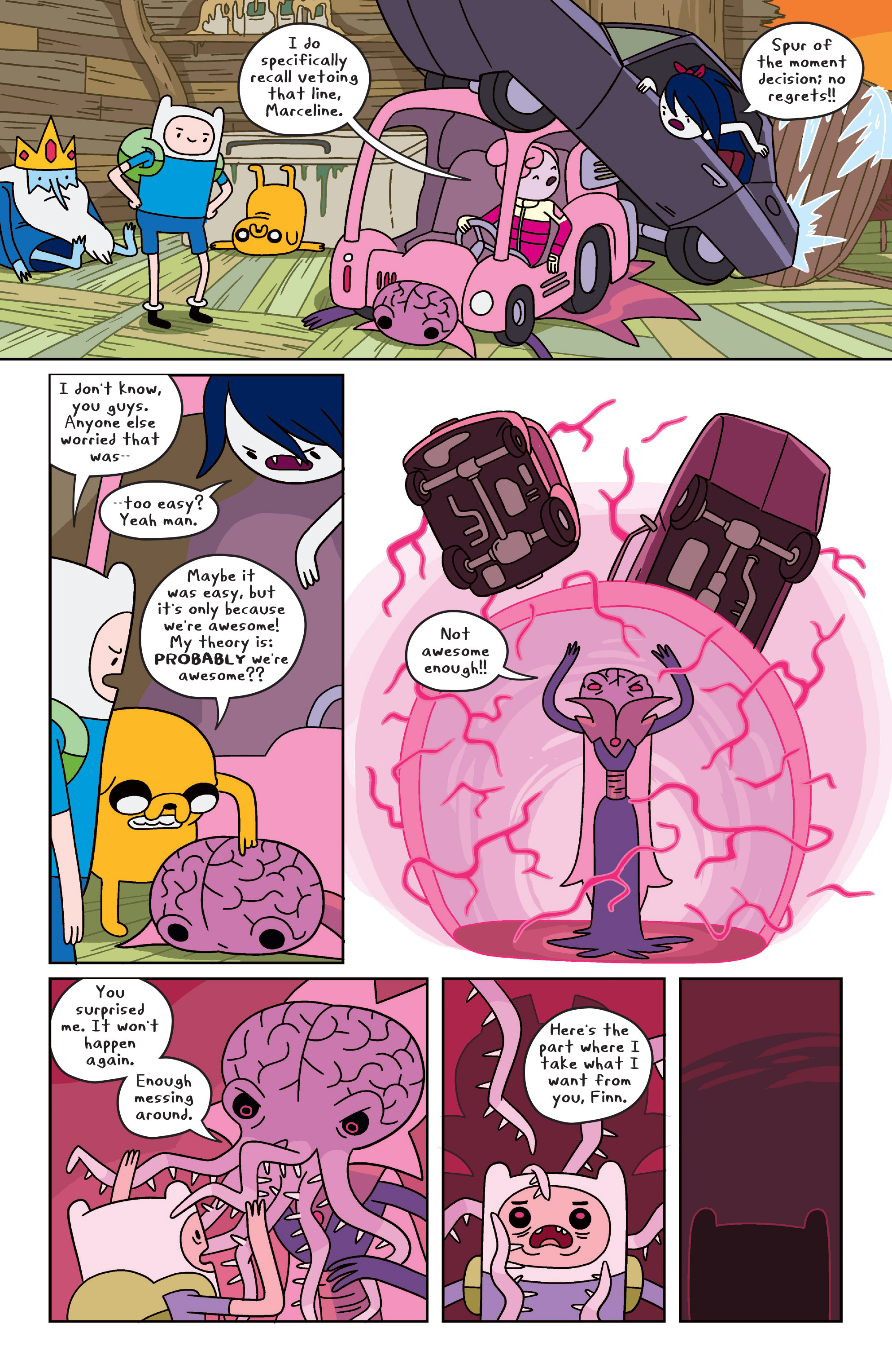 Read online Adventure Time comic -  Issue #31 - 17
