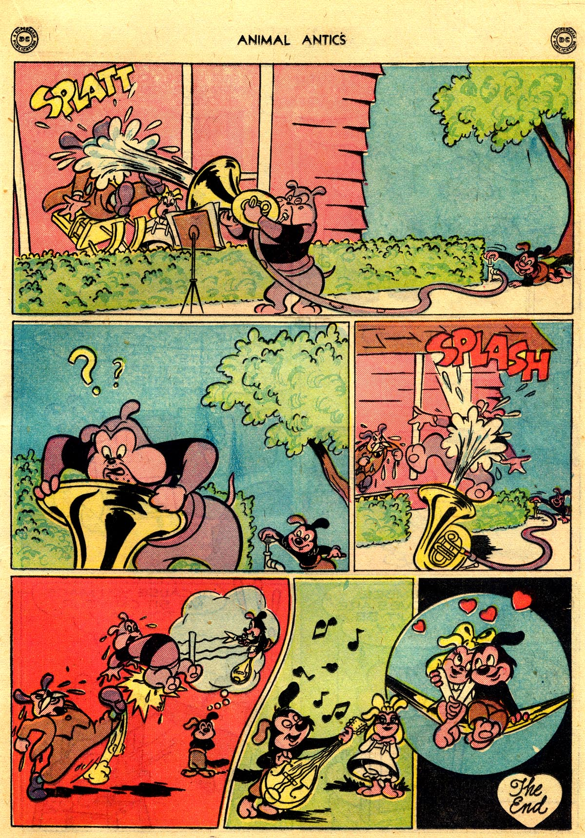 Read online Animal Antics comic -  Issue #10 - 35