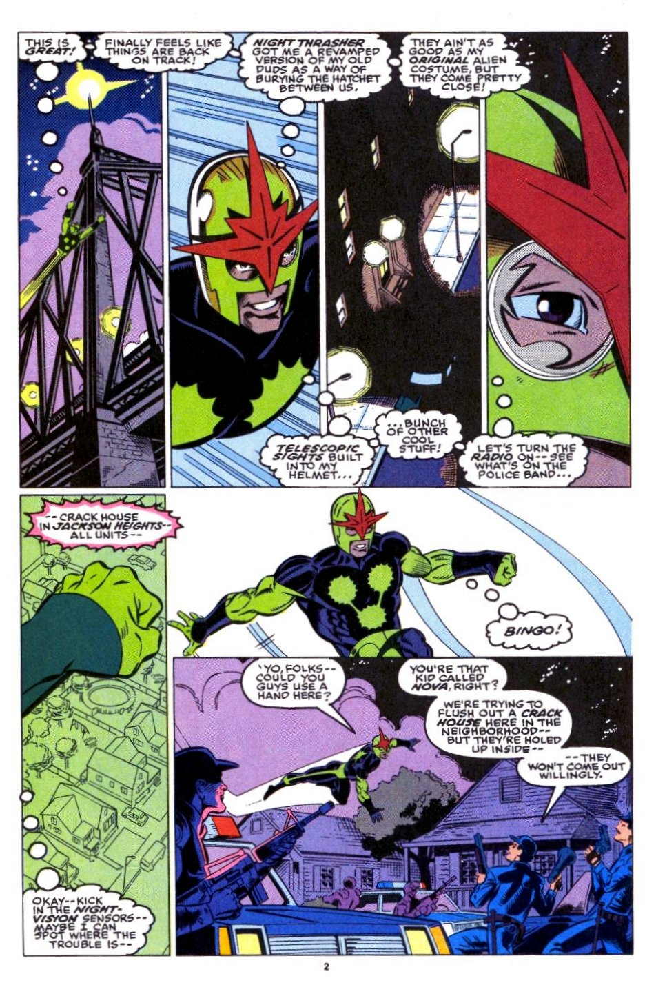 The New Warriors Issue #15 #19 - English 3