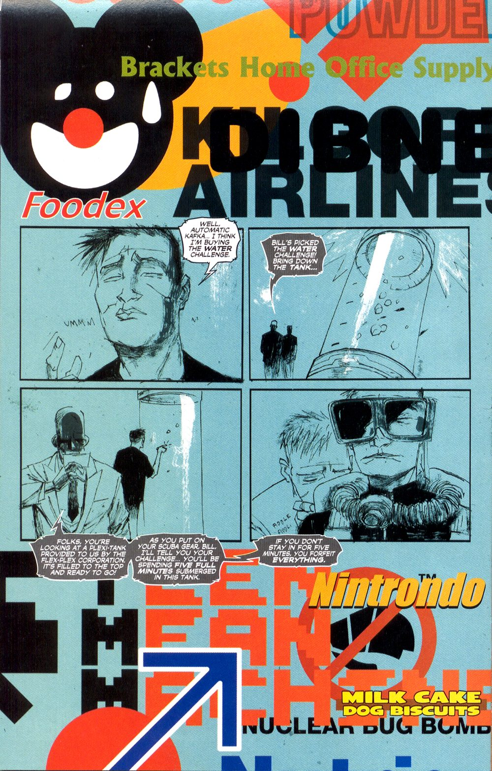 Read online Automatic Kafka comic -  Issue #3 - 14