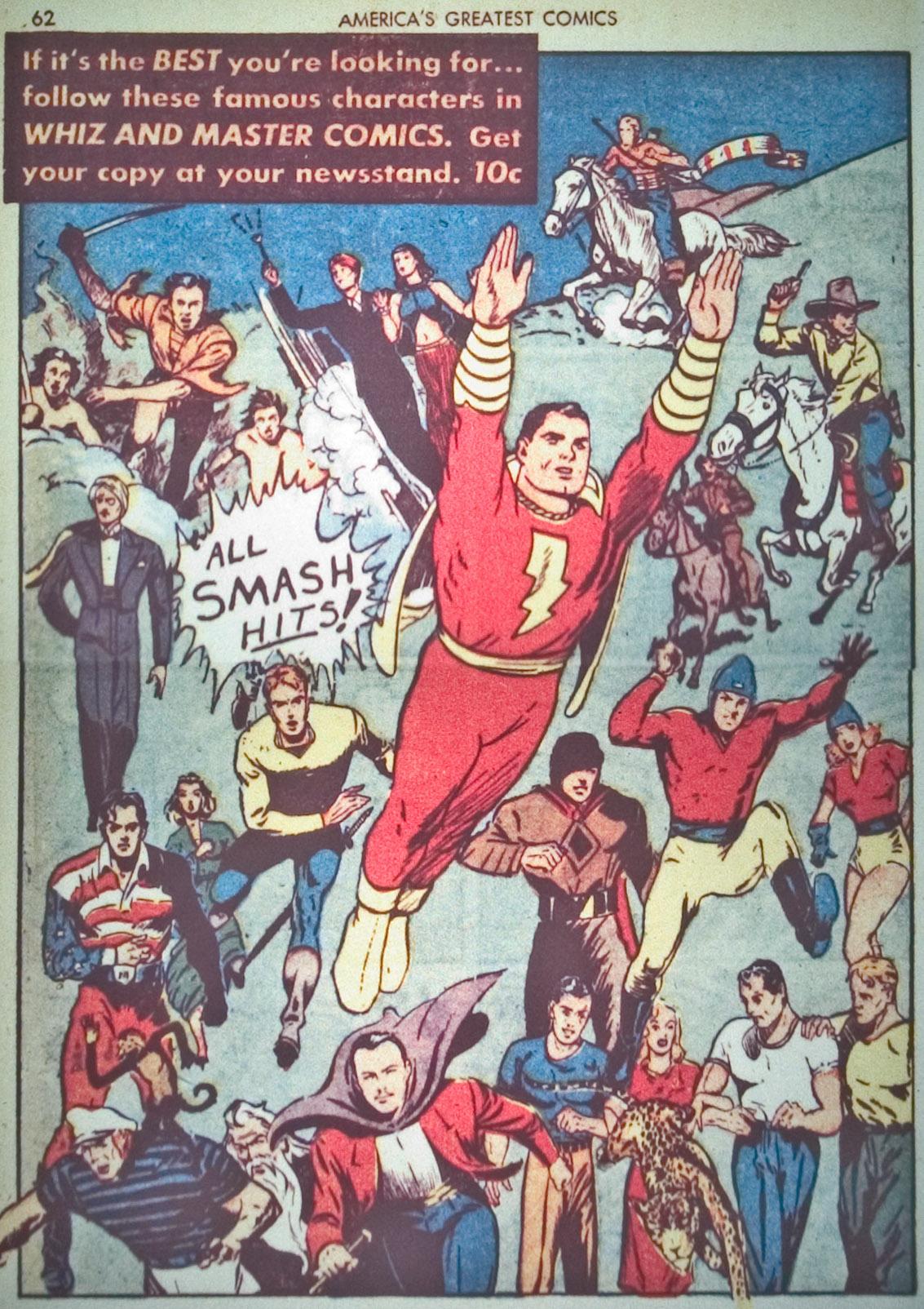 Read online America's Greatest Comics comic -  Issue #1 - 65