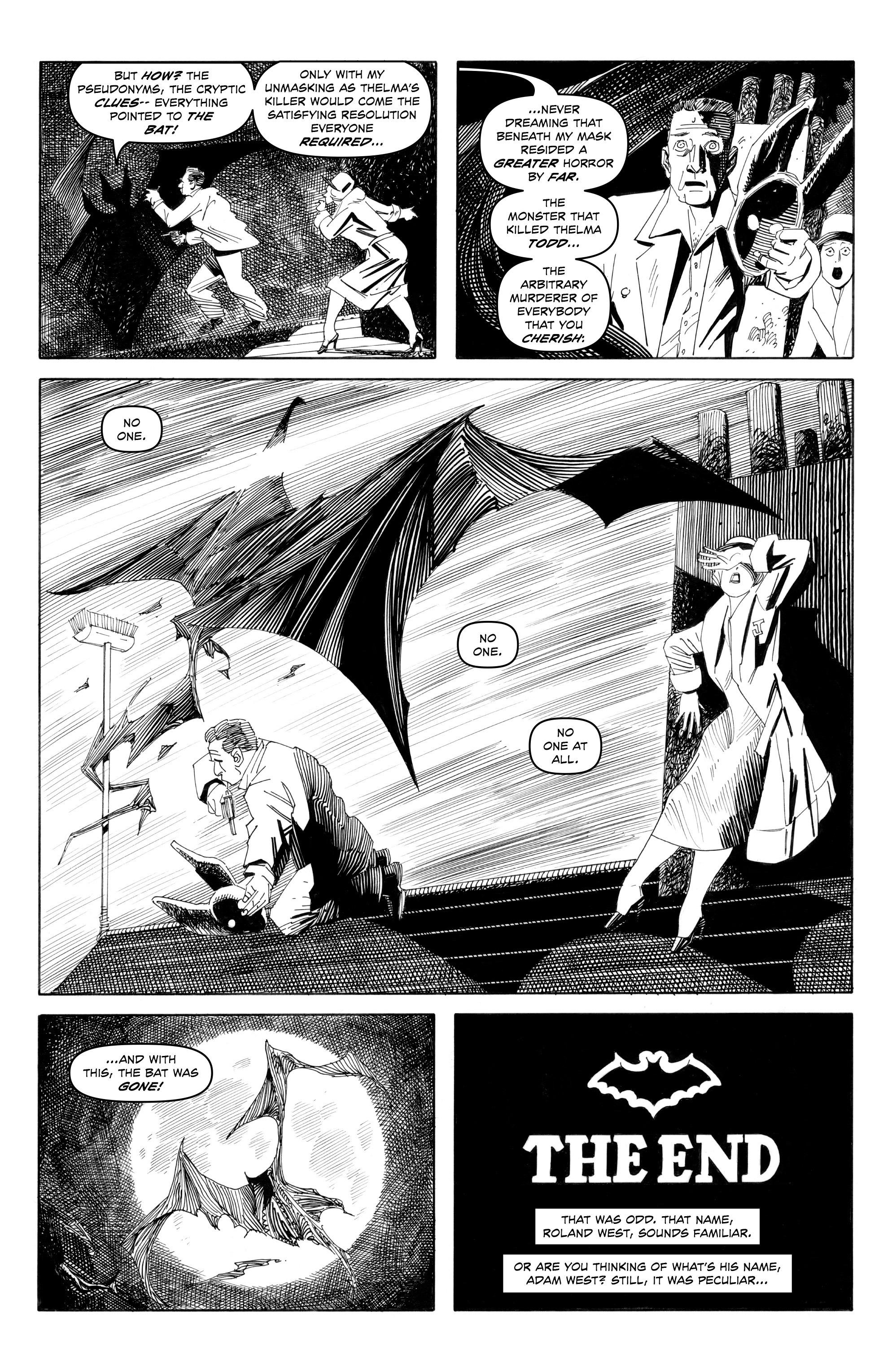 Read online Alan Moore's Cinema Purgatorio comic -  Issue #9 - 11