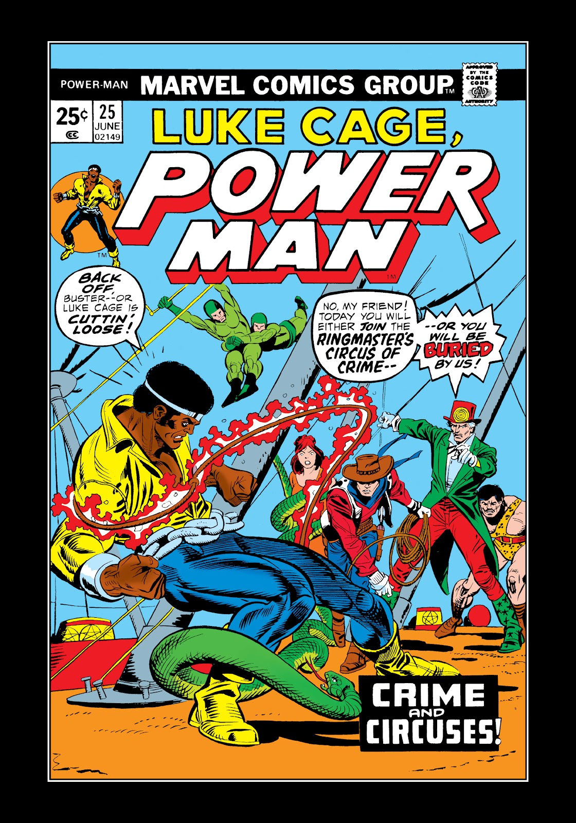 Read online Marvel Masterworks: Luke Cage, Power Man comic -  Issue # TPB 2 (Part 2) - 61