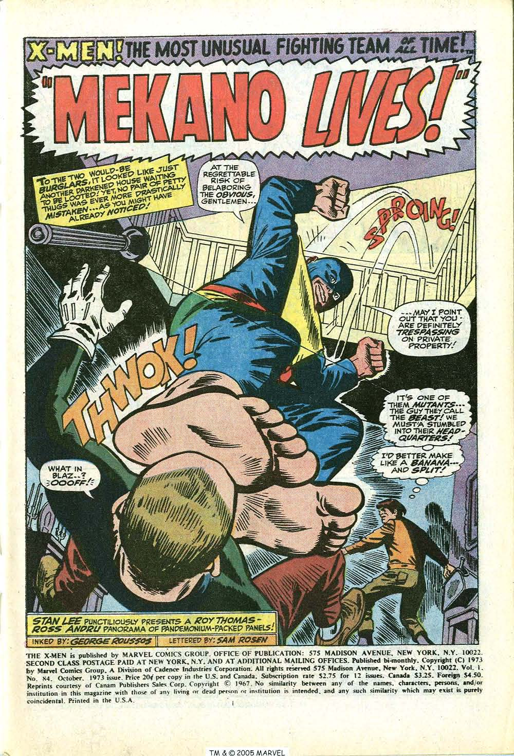 Uncanny X-Men (1963) 84 Page 2