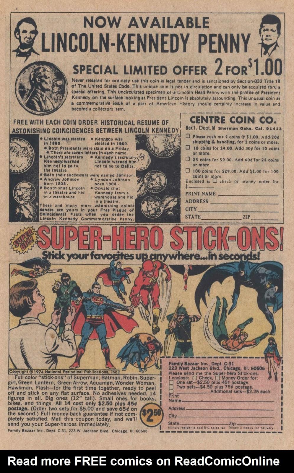 Read online Strange Sports Stories (1973) comic -  Issue #5 - 13