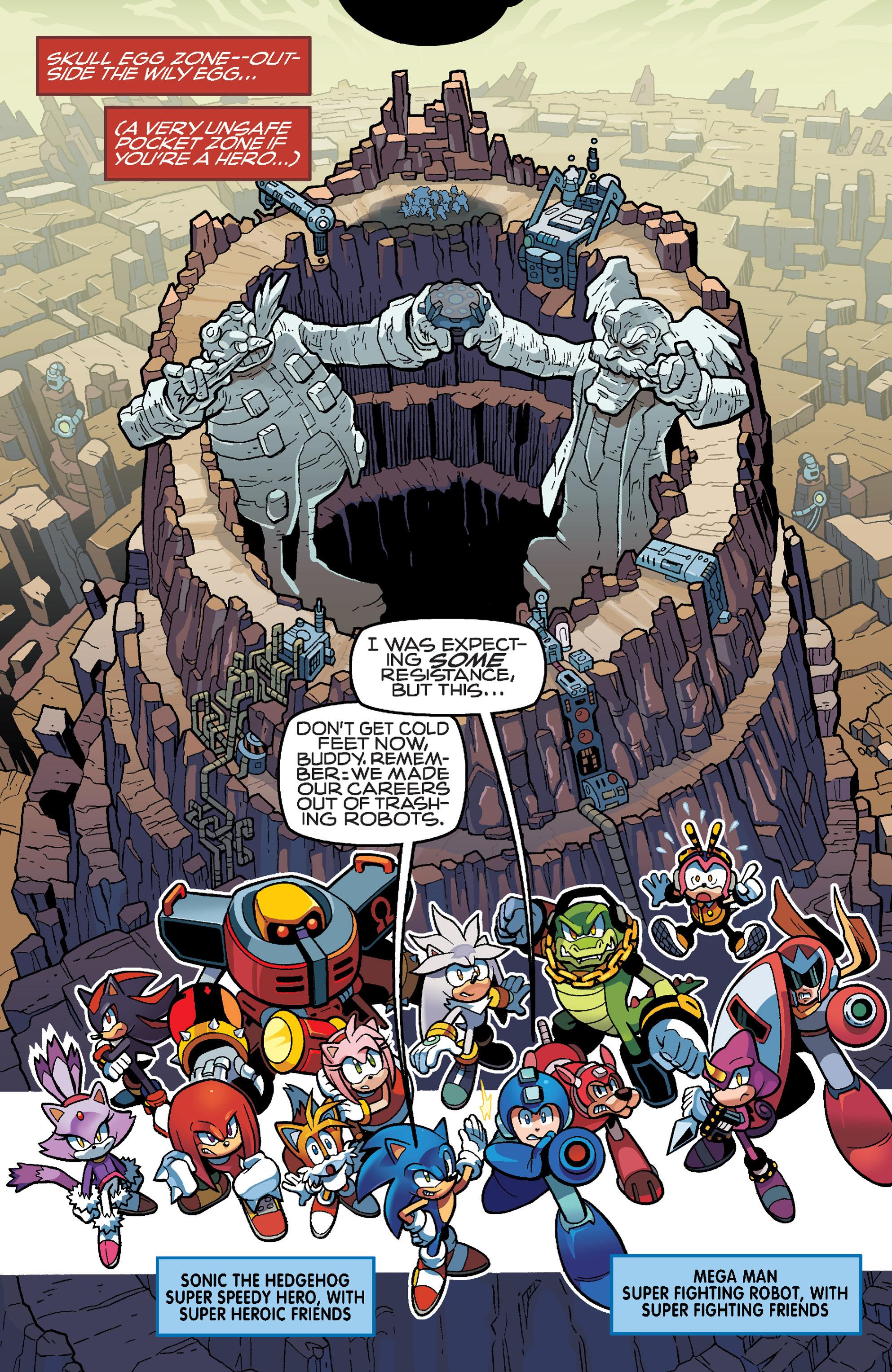 Read online Sonic Mega Man Worlds Collide comic -  Issue # Vol 3 - 11