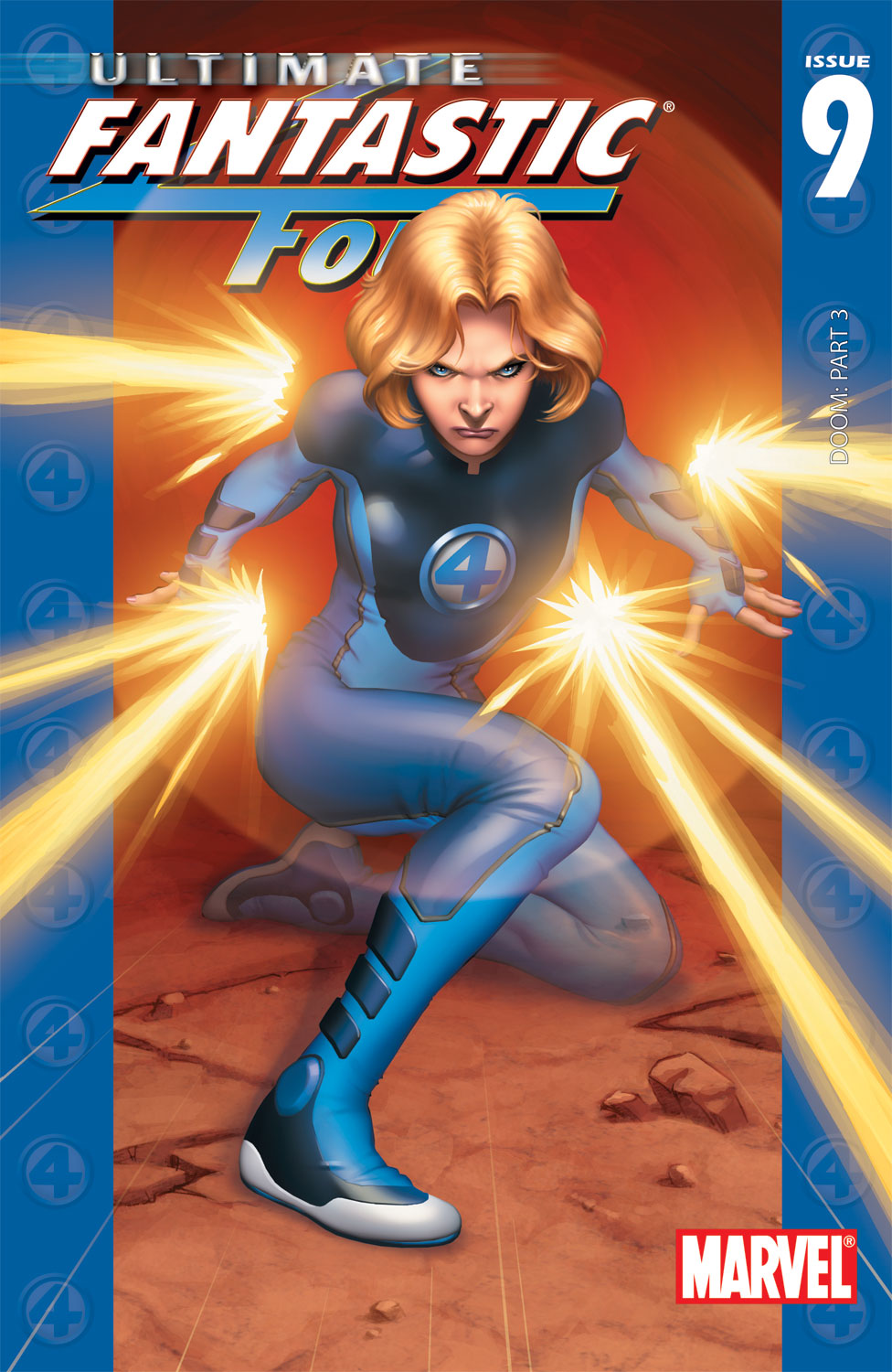 Read online Ultimate Fantastic Four (2004) comic -  Issue #9 - 1