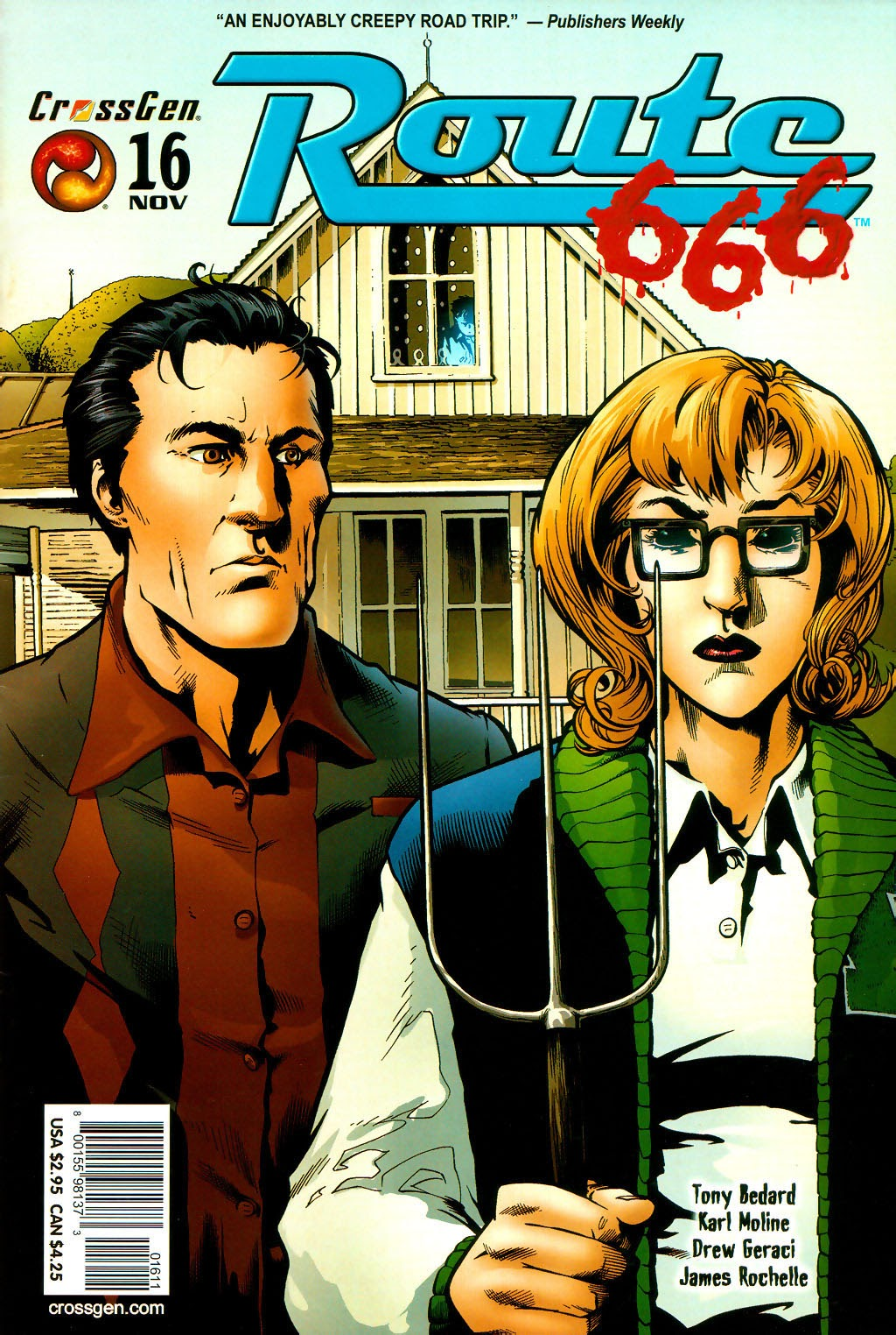 Read online Route 666 comic -  Issue #16 - 1