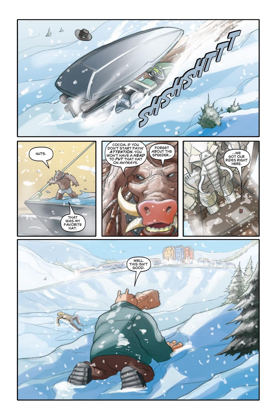 Read online Elephantmen 2261 Season Two: The Pentalion Job comic -  Issue # TPB - 43