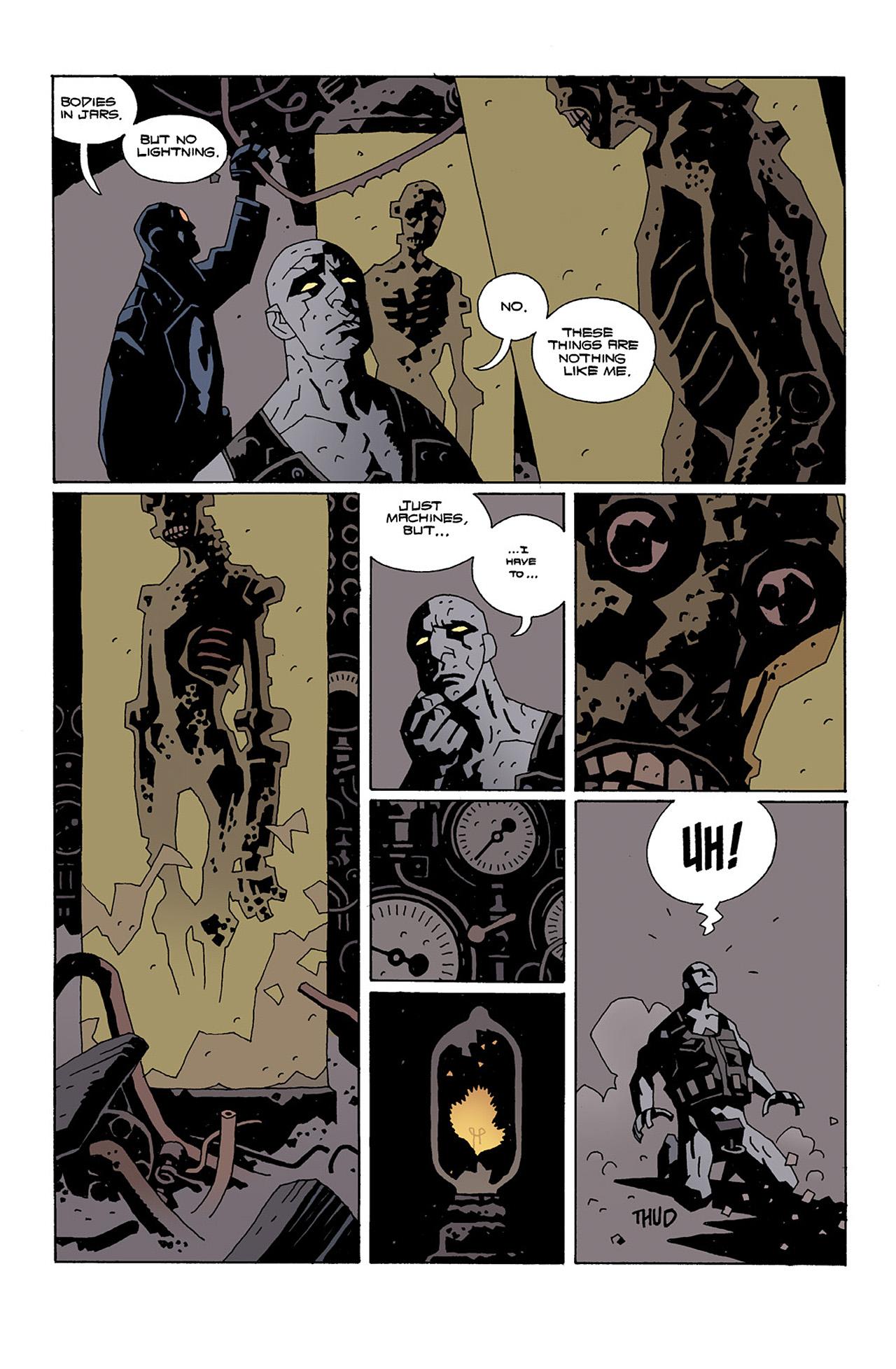 Read online Hellboy: Conqueror Worm comic -  Issue #2 - 15