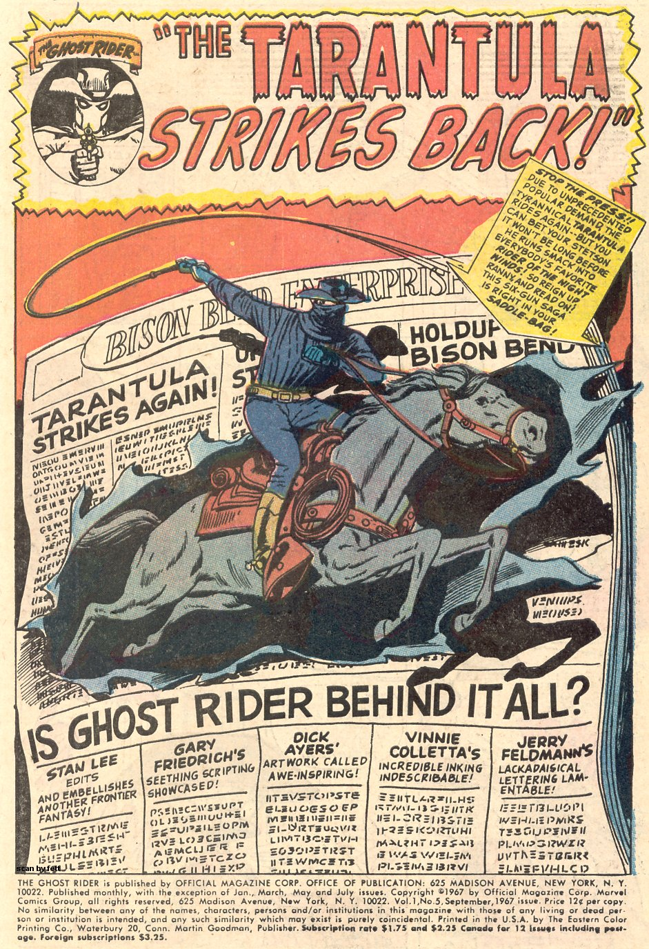 The Ghost Rider Issue #5 #5 - English 3