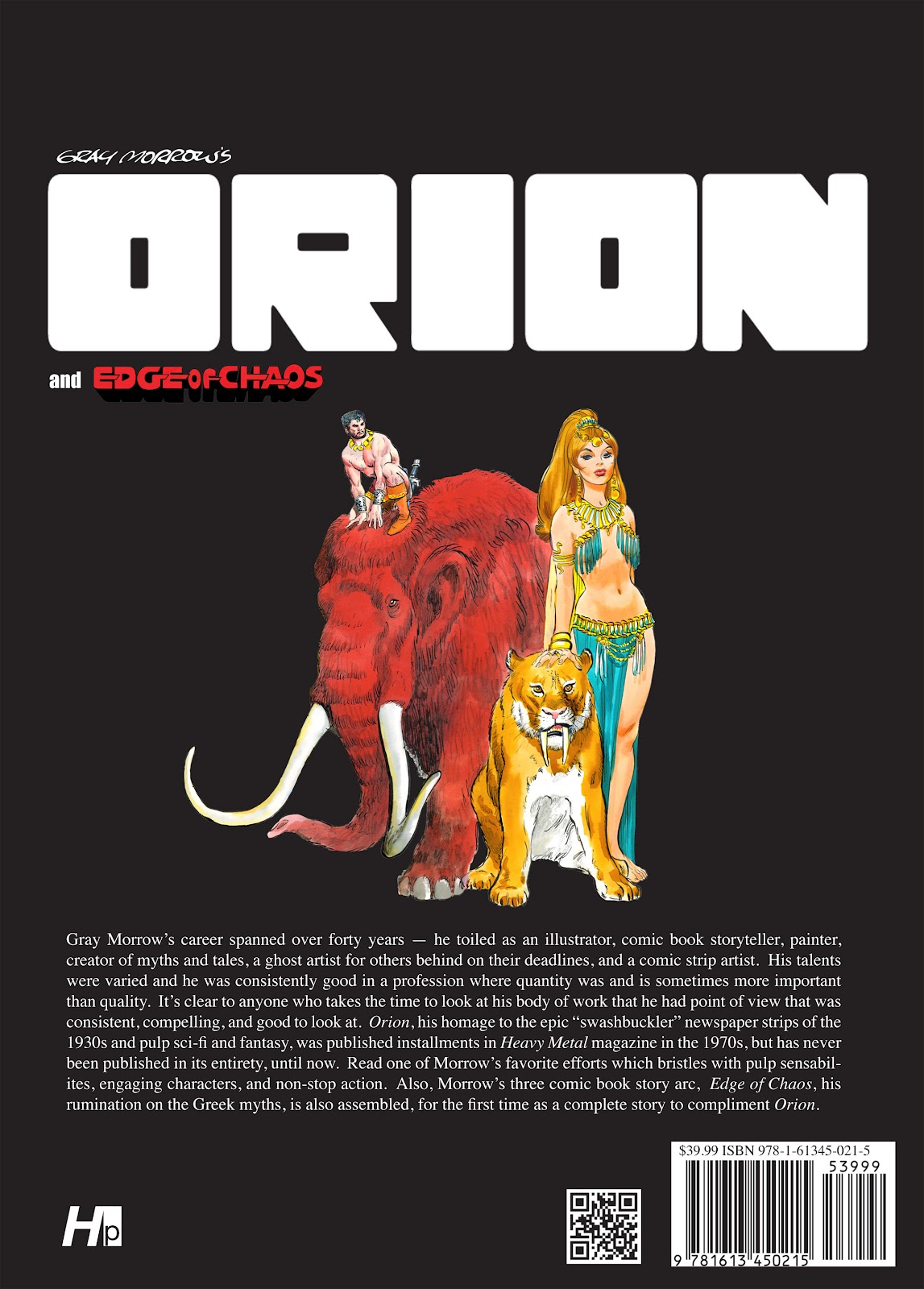 Read online Orion and Edge of Chaos comic -  Issue # TPB - 146