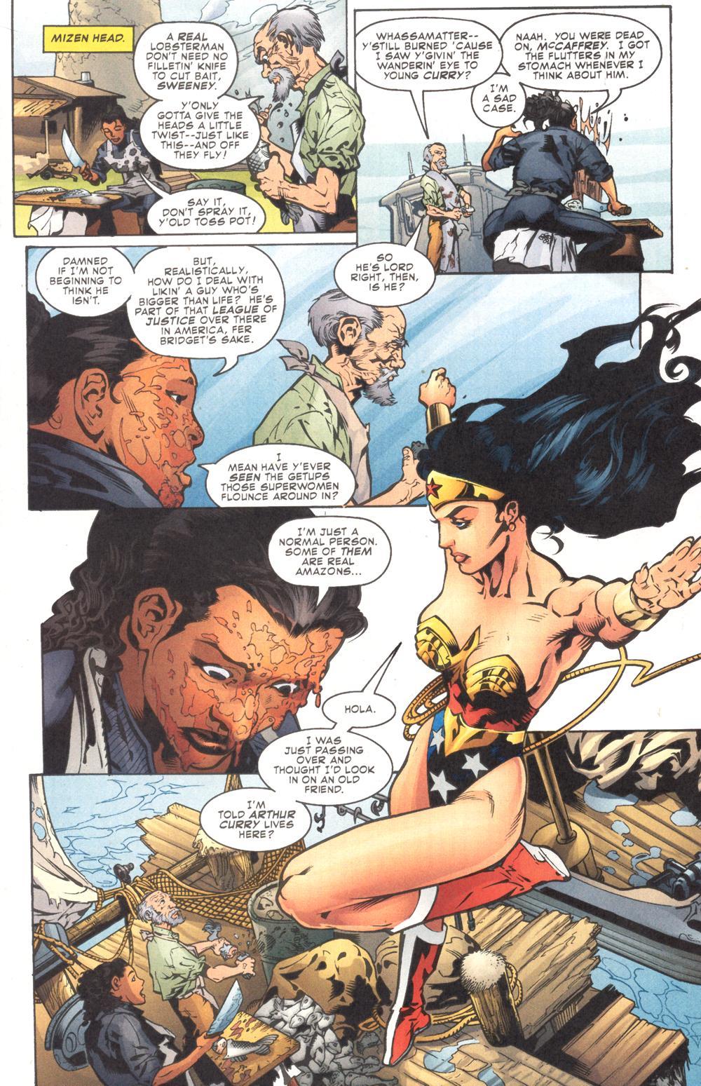 Read online Aquaman (2003) comic -  Issue #9 - 12