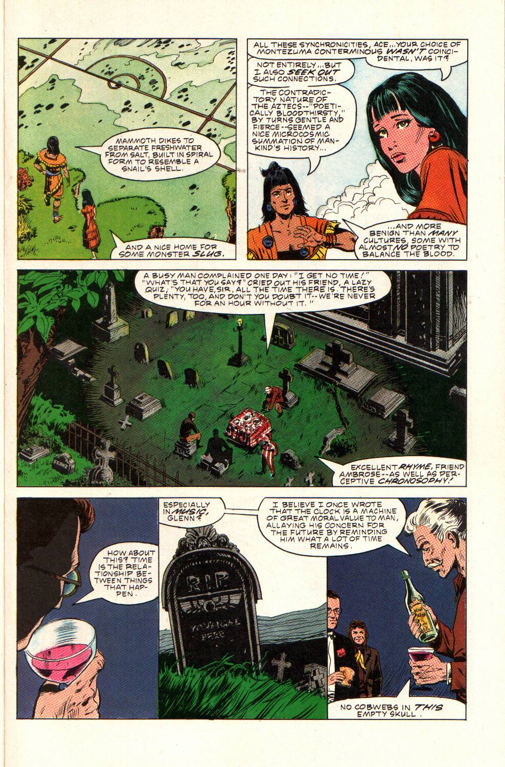 Read online Aztec Ace comic -  Issue #9 - 17