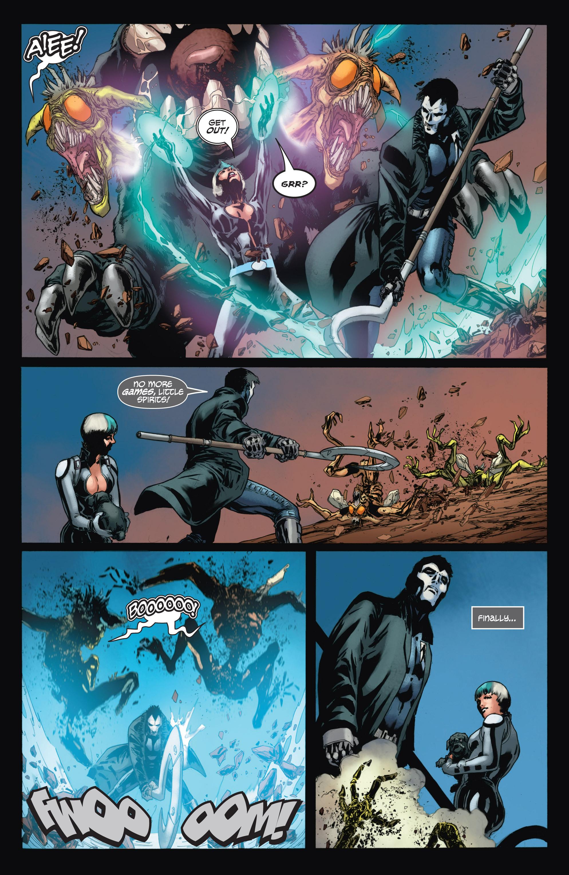 Read online Shadowman (2012) comic -  Issue #11 - 21