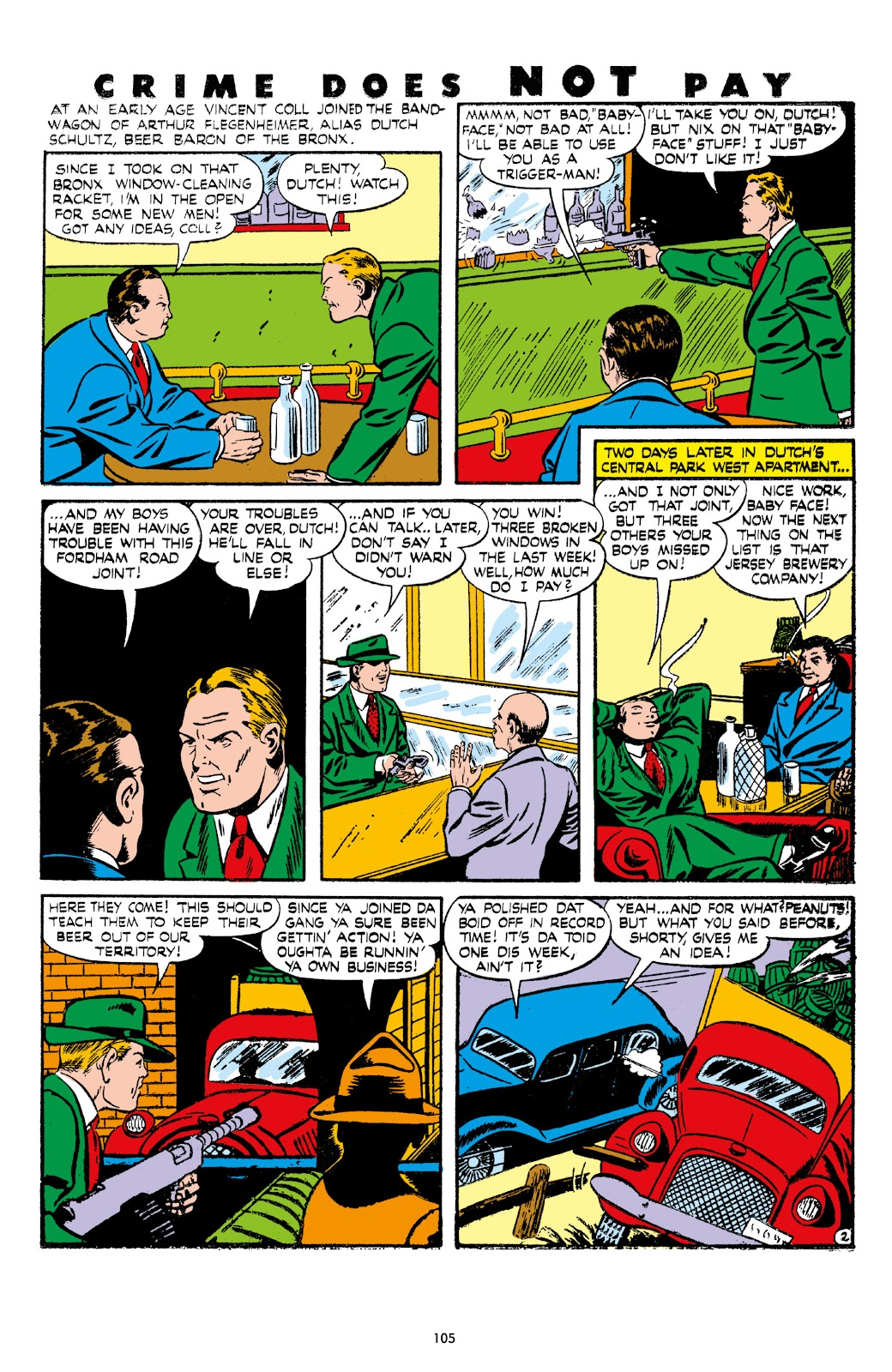 Read online Crime Does Not Pay Archives comic -  Issue # TPB 7 (Part 2) - 7
