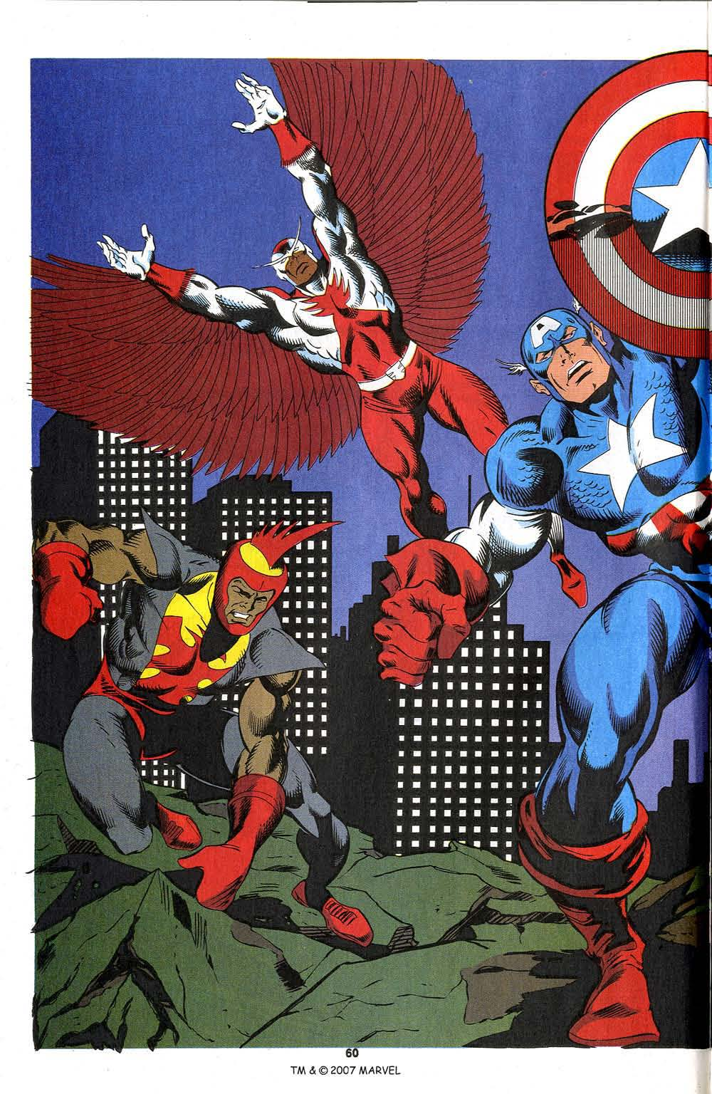 Read online Captain America (1968) comic -  Issue # _Annual 13 - 62
