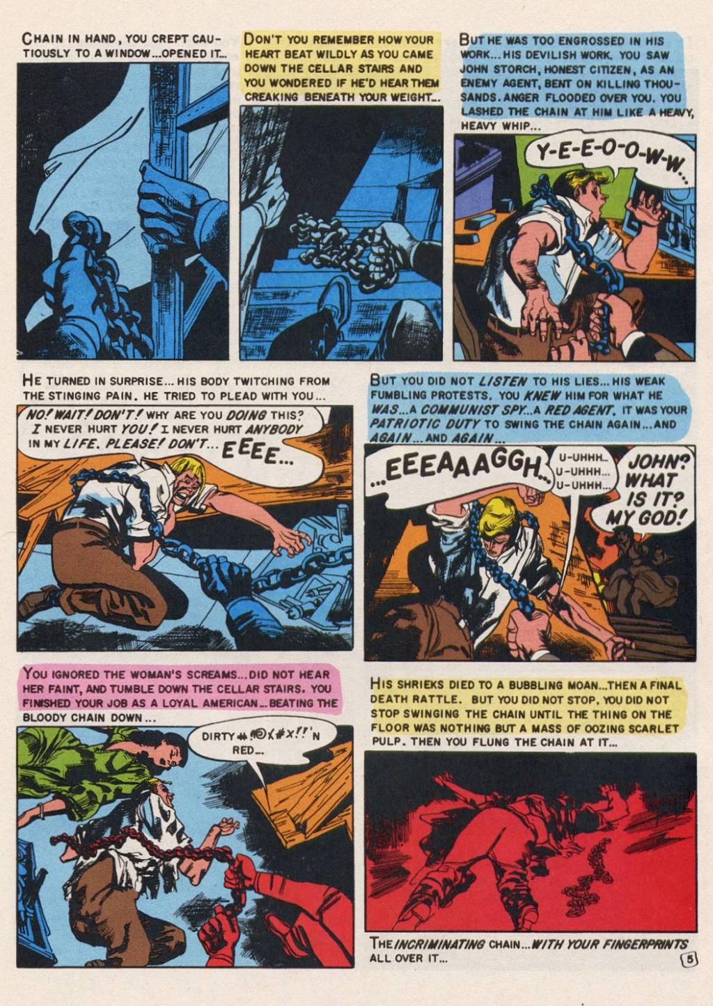 Read Online Shock Suspenstories Comic Issue 14