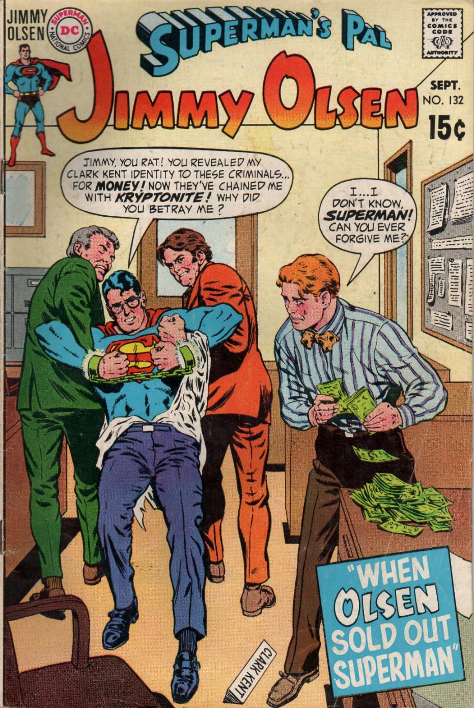 Supermans Pal Jimmy Olsen (1954) 132 Page 1