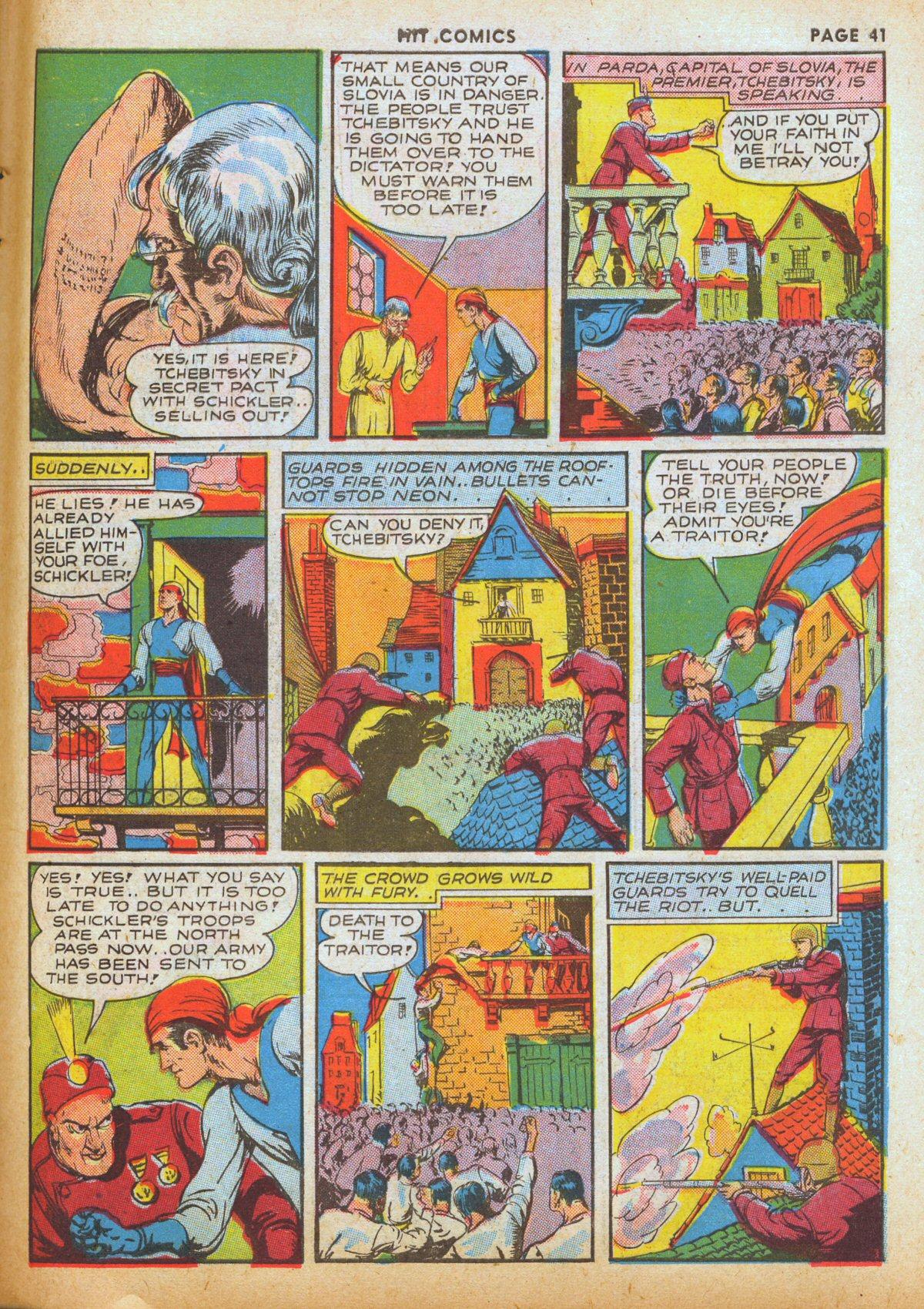 Read online Hit Comics comic -  Issue #12 - 43