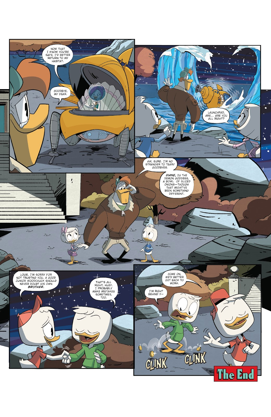 Read online Ducktales (2017) comic -  Issue #18 - 22