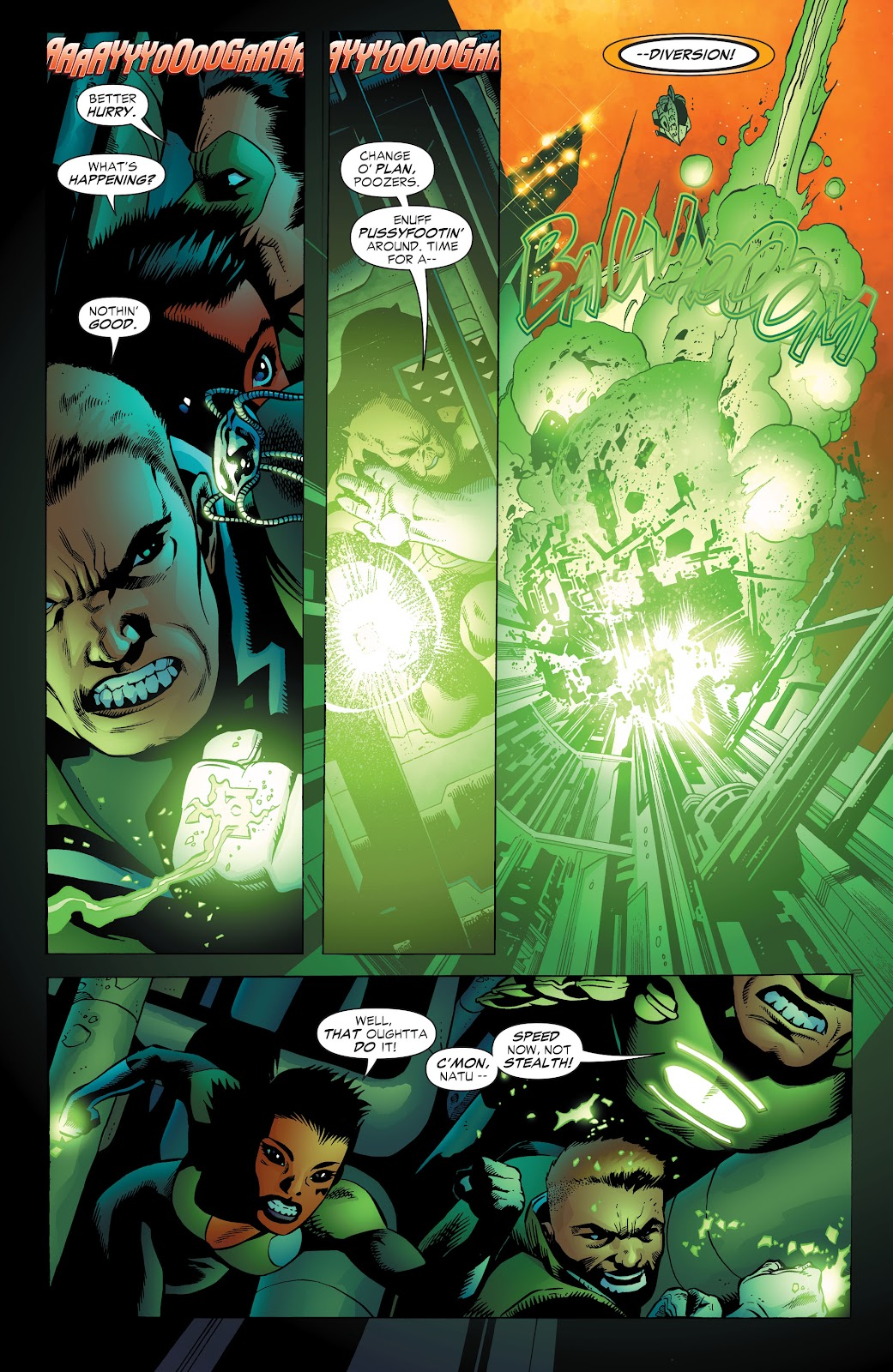 Read online Green Lantern by Geoff Johns comic -  Issue # TPB 1 (Part 3) - 59