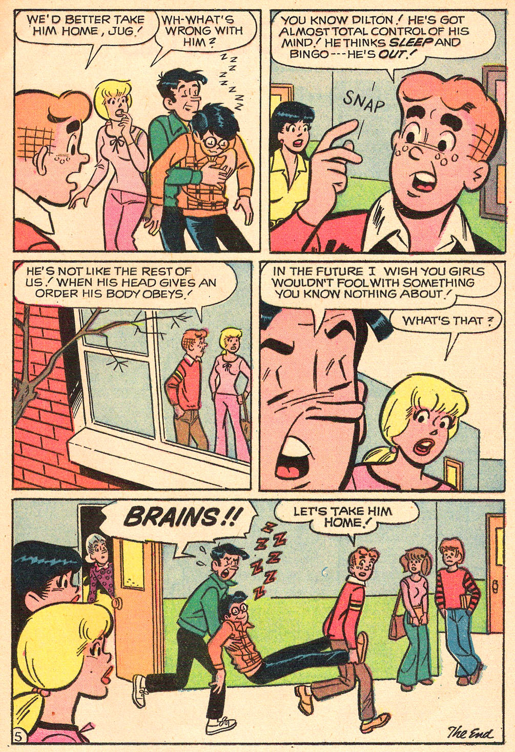 Read online Archie's Girls Betty and Veronica comic -  Issue #208 - 17