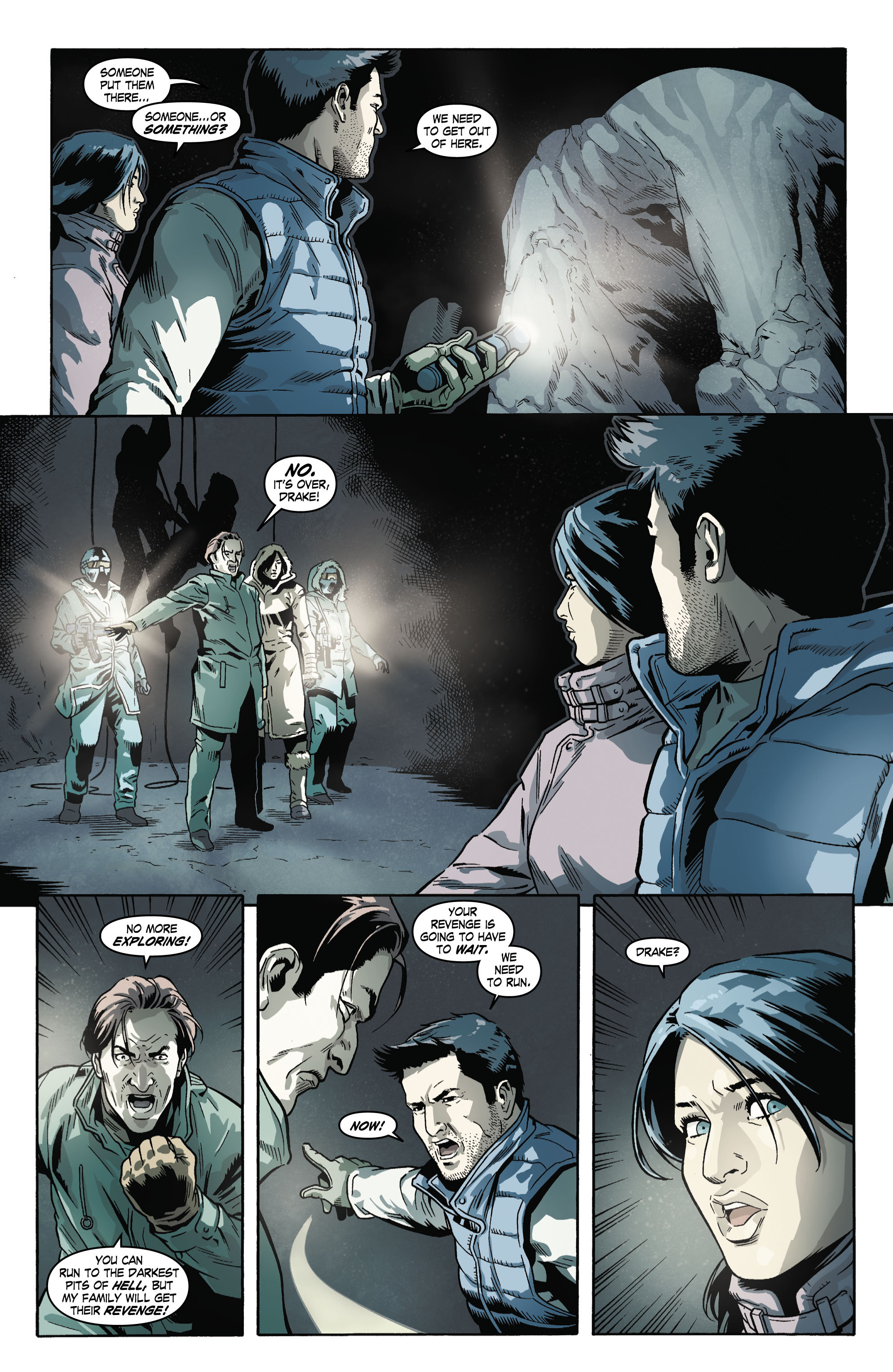 Read online Uncharted comic -  Issue #4 - 20