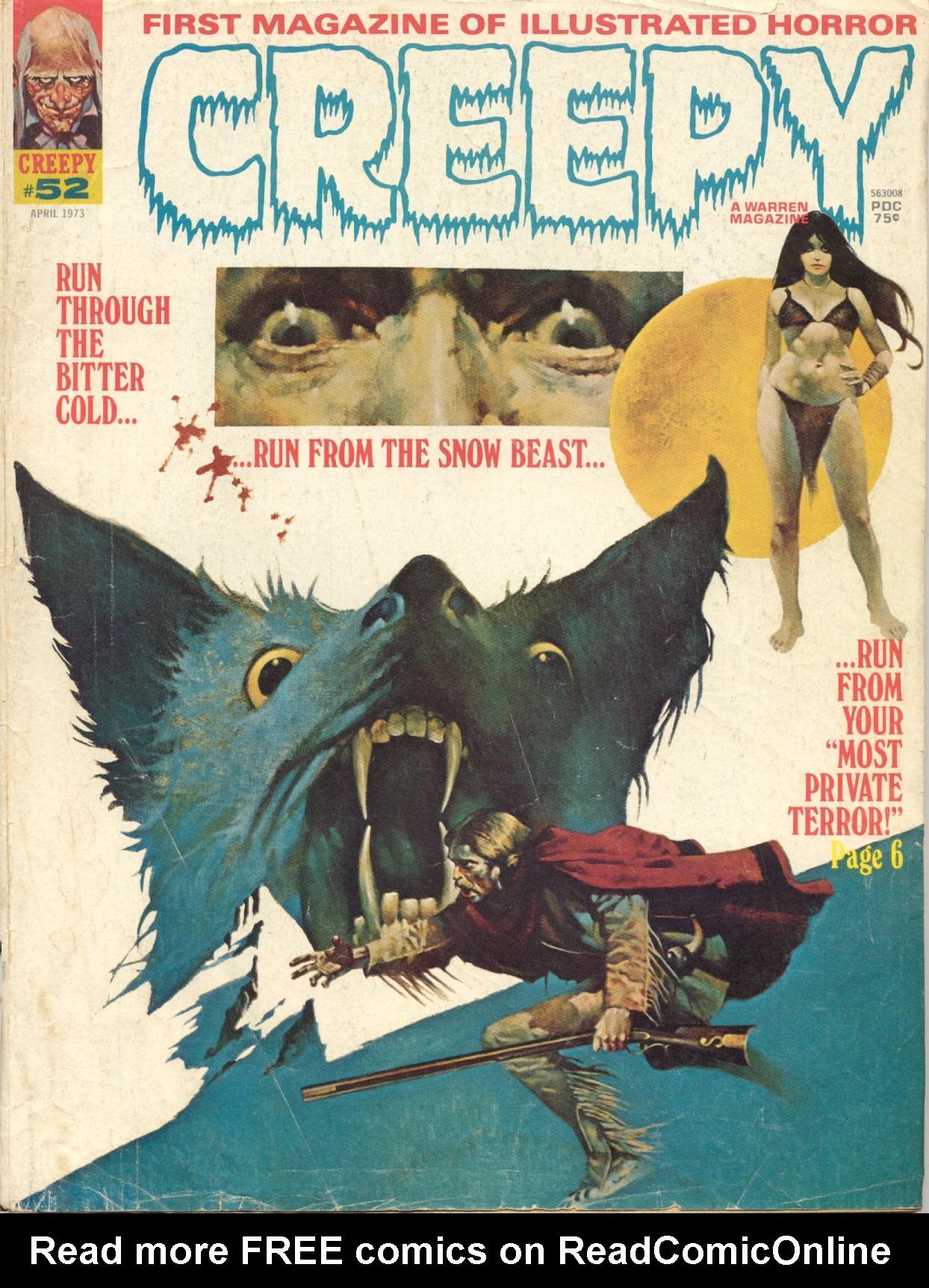 Creepy (1964) 52 Page 1
