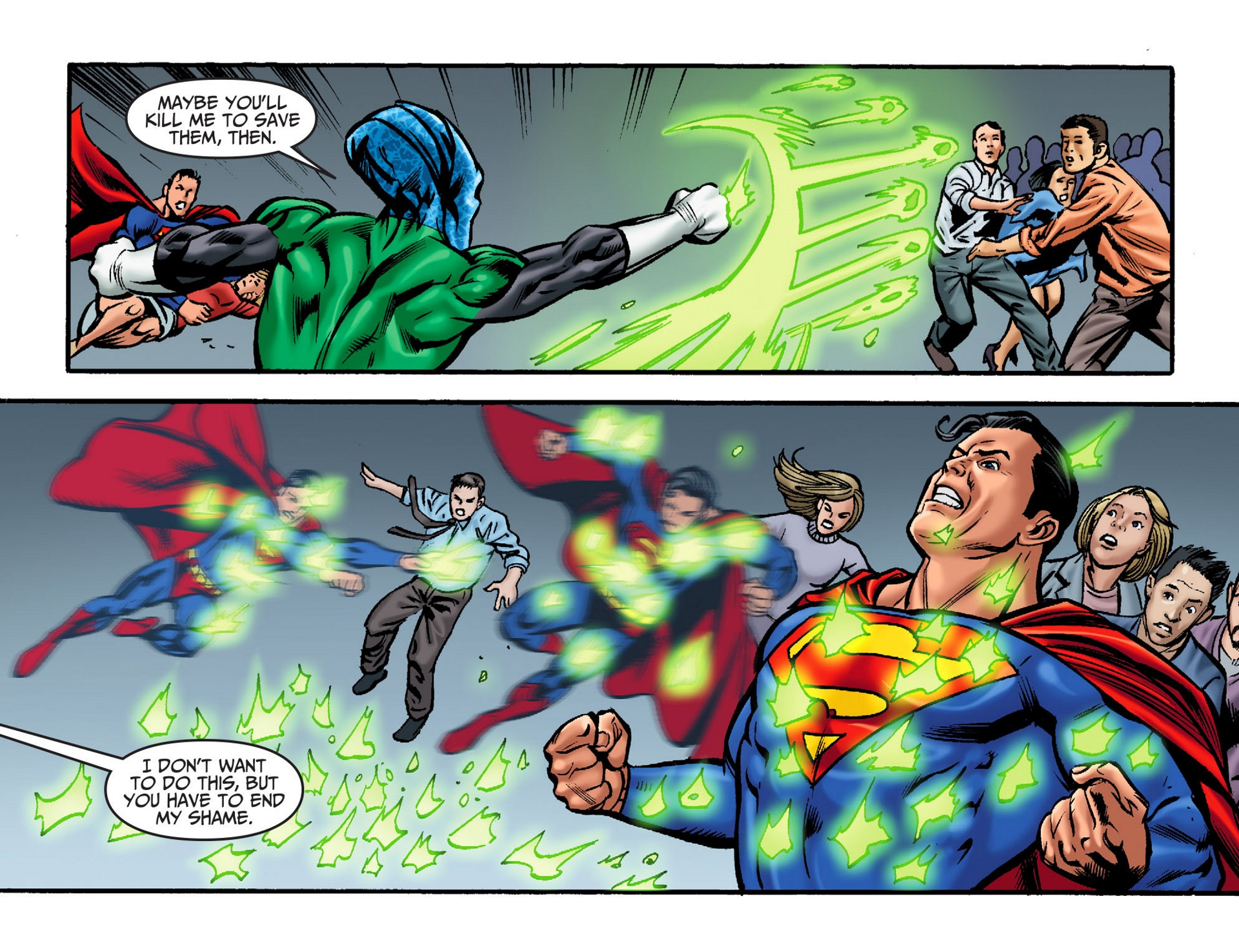 Read online Adventures of Superman [I] comic -  Issue #32 - 15